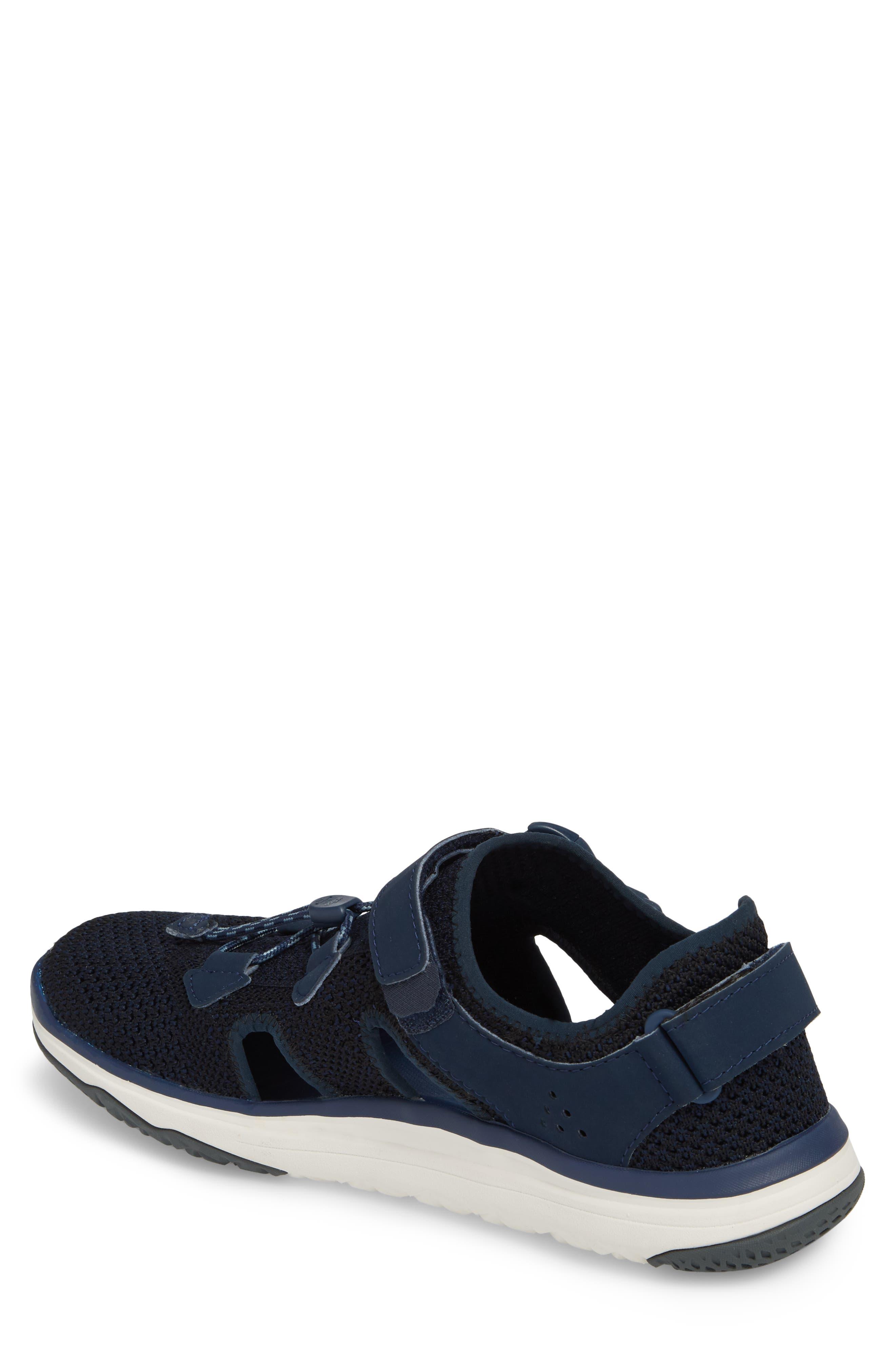 Terra Float Travel Sneaker,                             Alternate thumbnail 2, color,                             Navy Knit