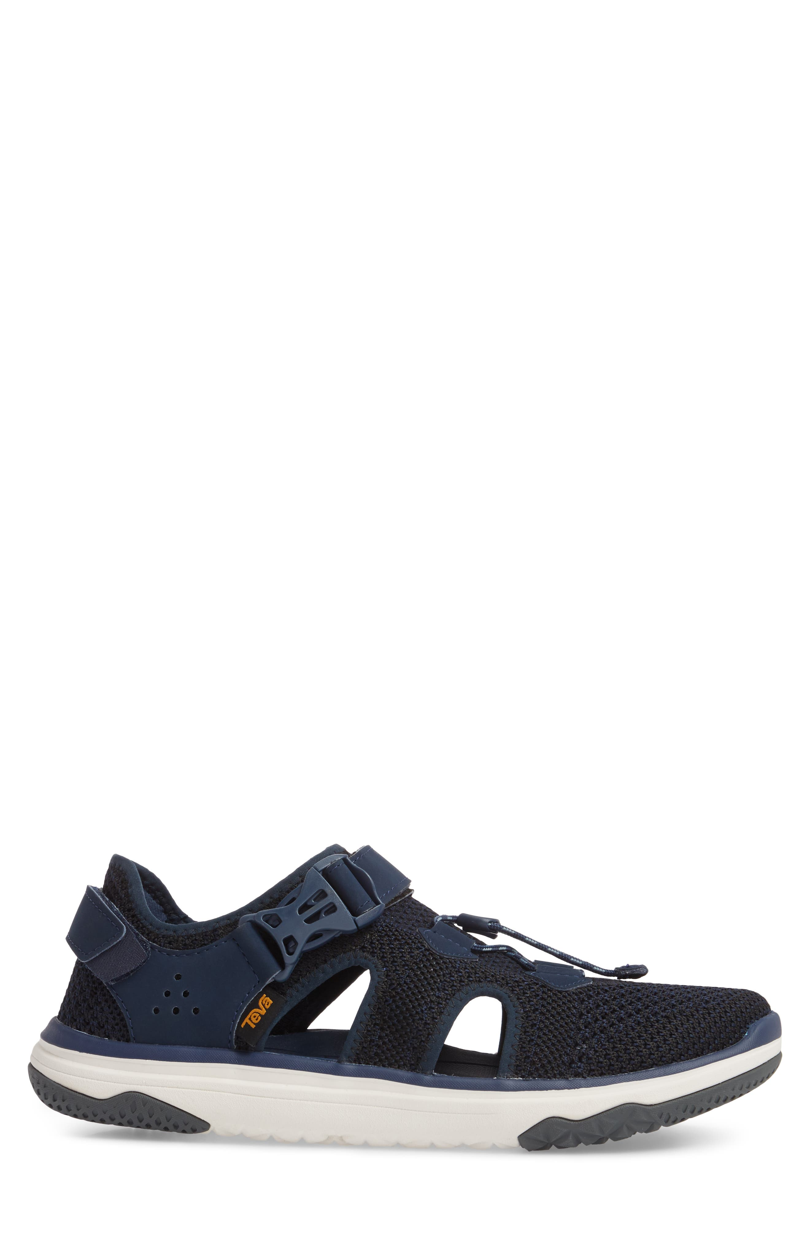 Terra Float Travel Sneaker,                             Alternate thumbnail 3, color,                             Navy Knit