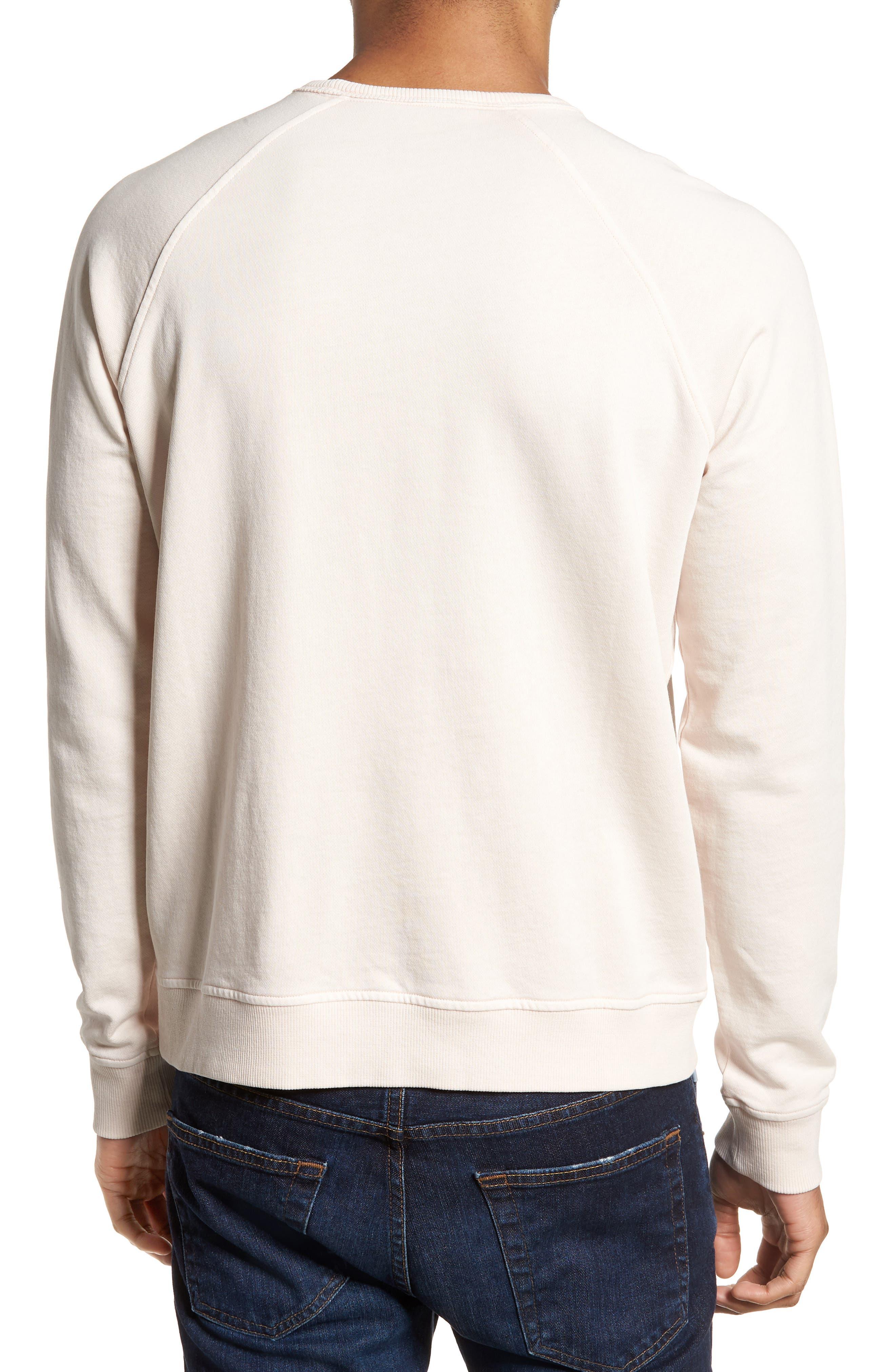 Schrank Raglan Sweatshirt,                             Alternate thumbnail 2, color,                             Pink