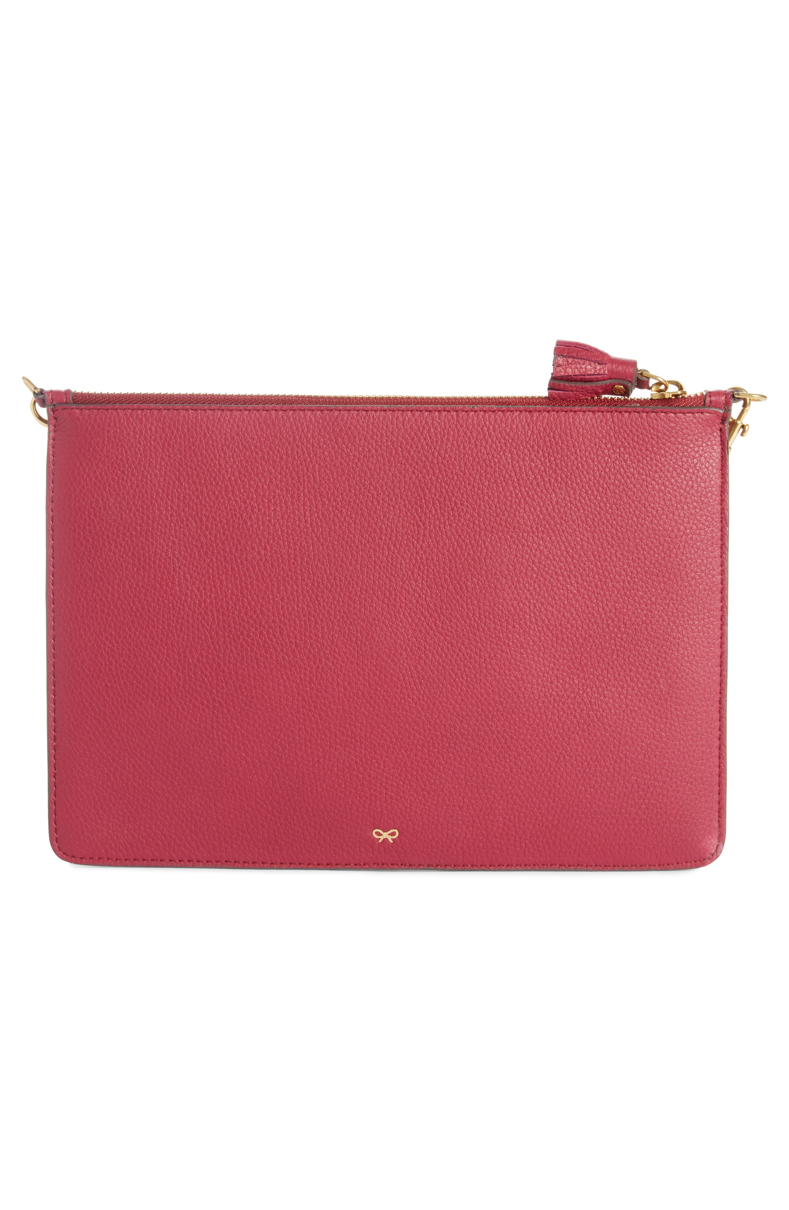 Alternate Image 3  - Anya Hindmarch Eyes Leather Zip Pouch