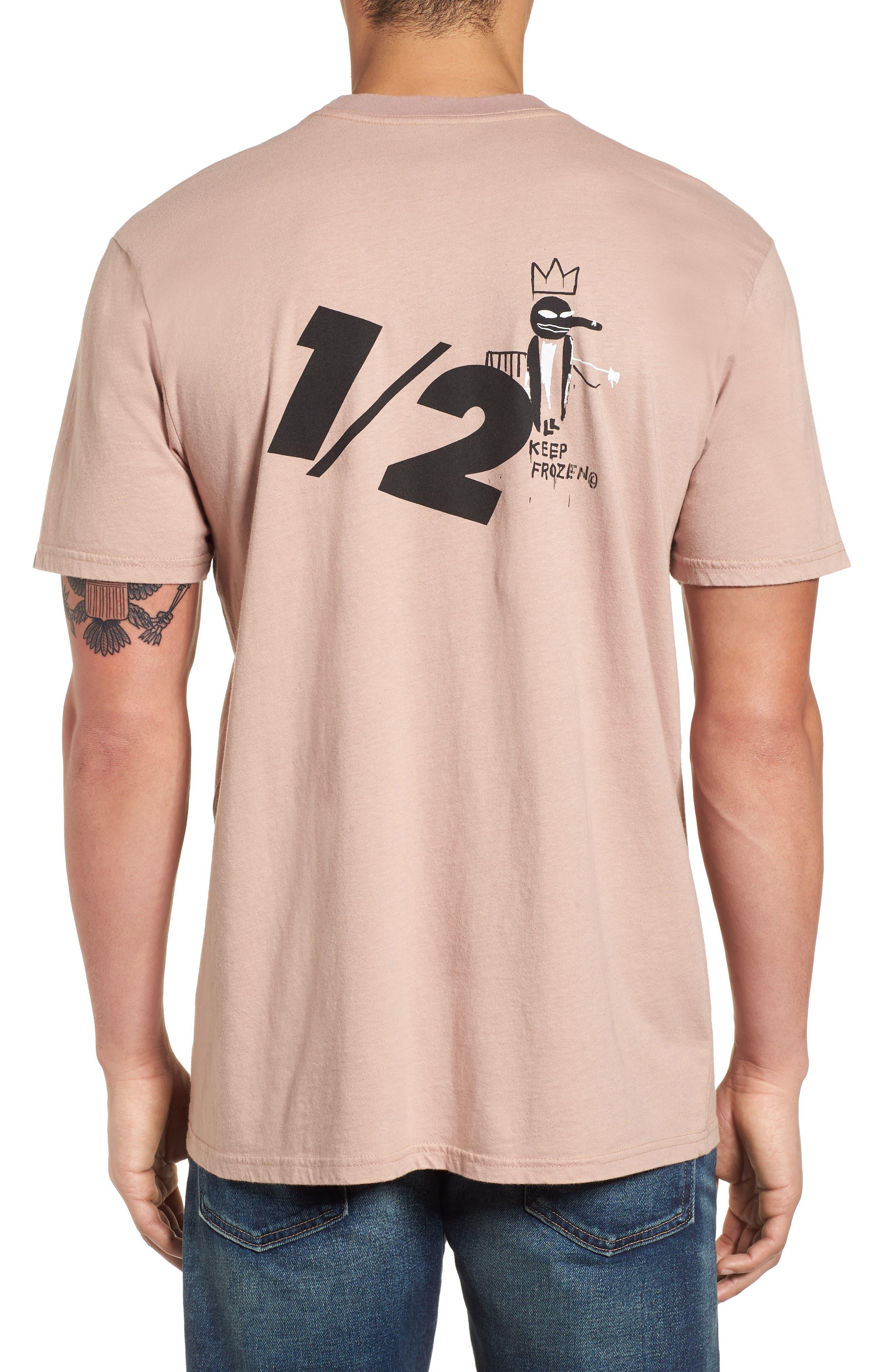 x Warhol Half T-Shirt,                             Alternate thumbnail 2, color,                             Ash Rose