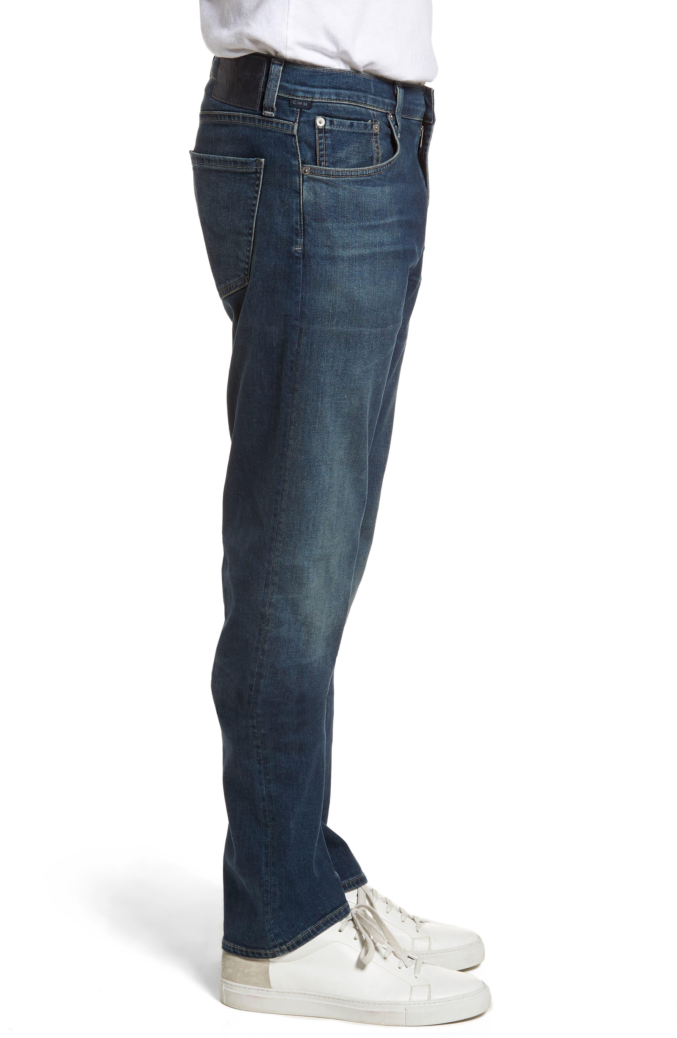 Core Slim Fit Jeans,                             Alternate thumbnail 3, color,                             Unison