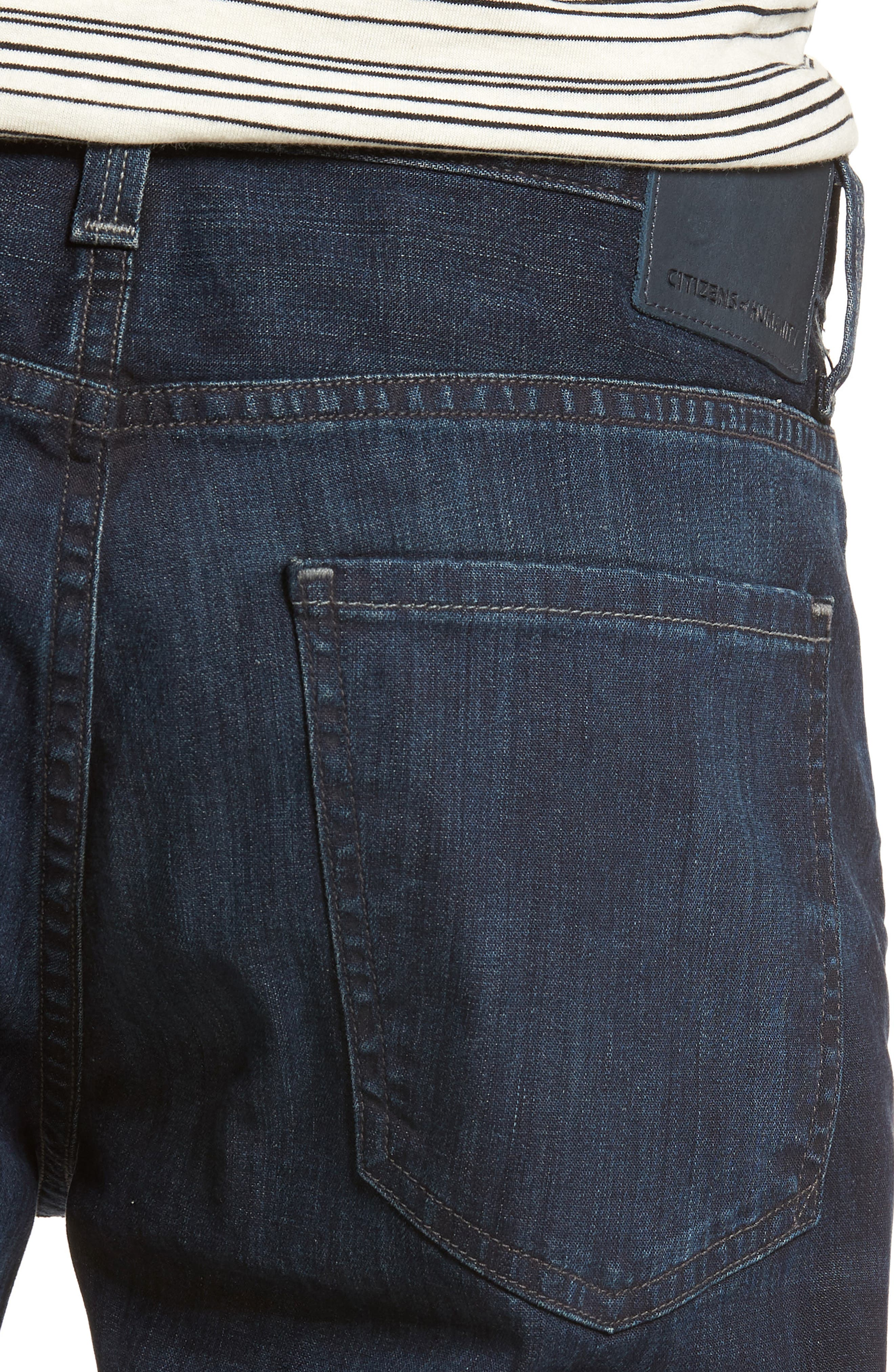 Gage Slim Straight Leg Jeans,                             Alternate thumbnail 4, color,                             Newman