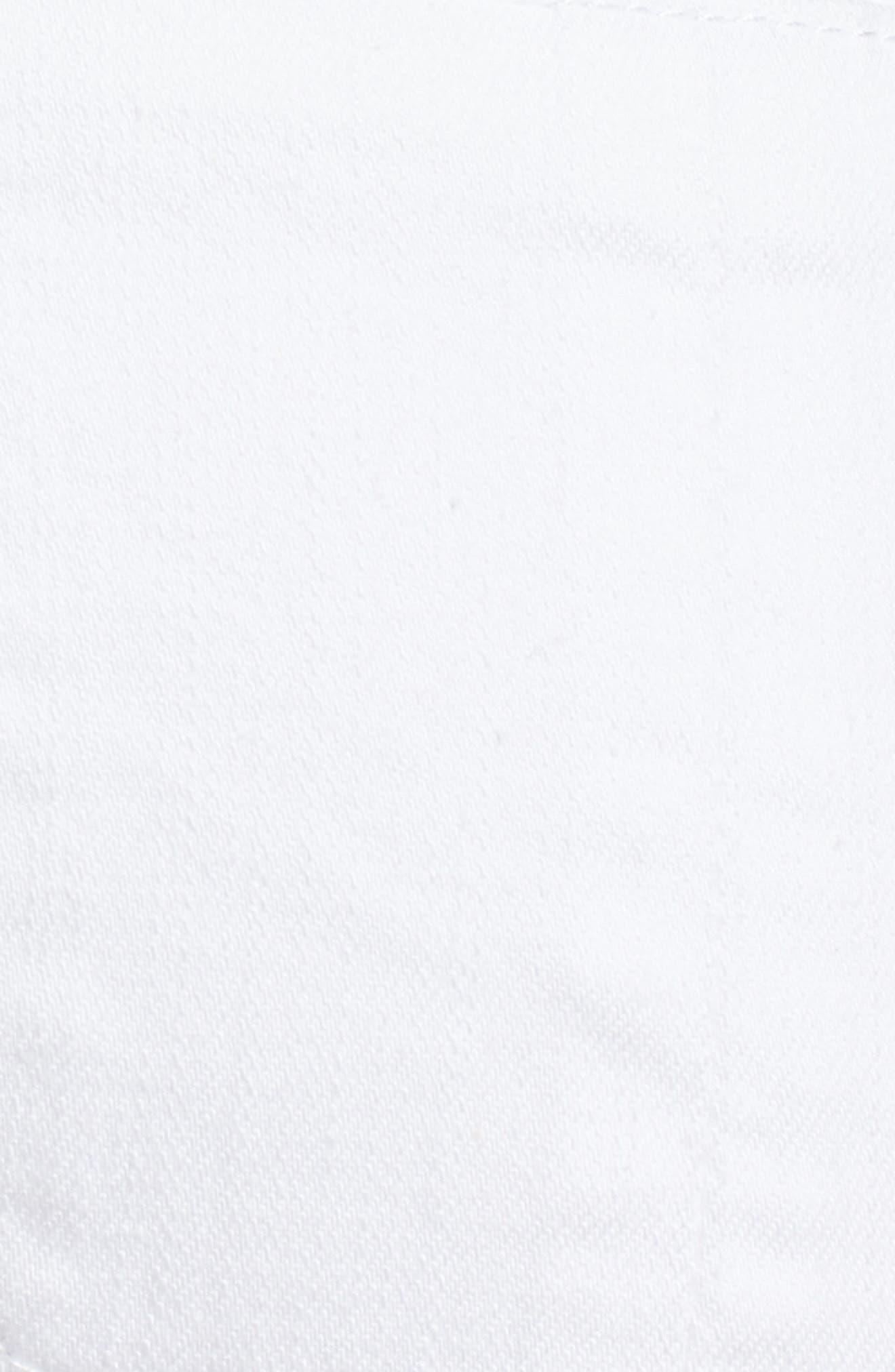 Flex-ellent Cuffed Boyfriend Jeans,                             Alternate thumbnail 6, color,                             Optic White