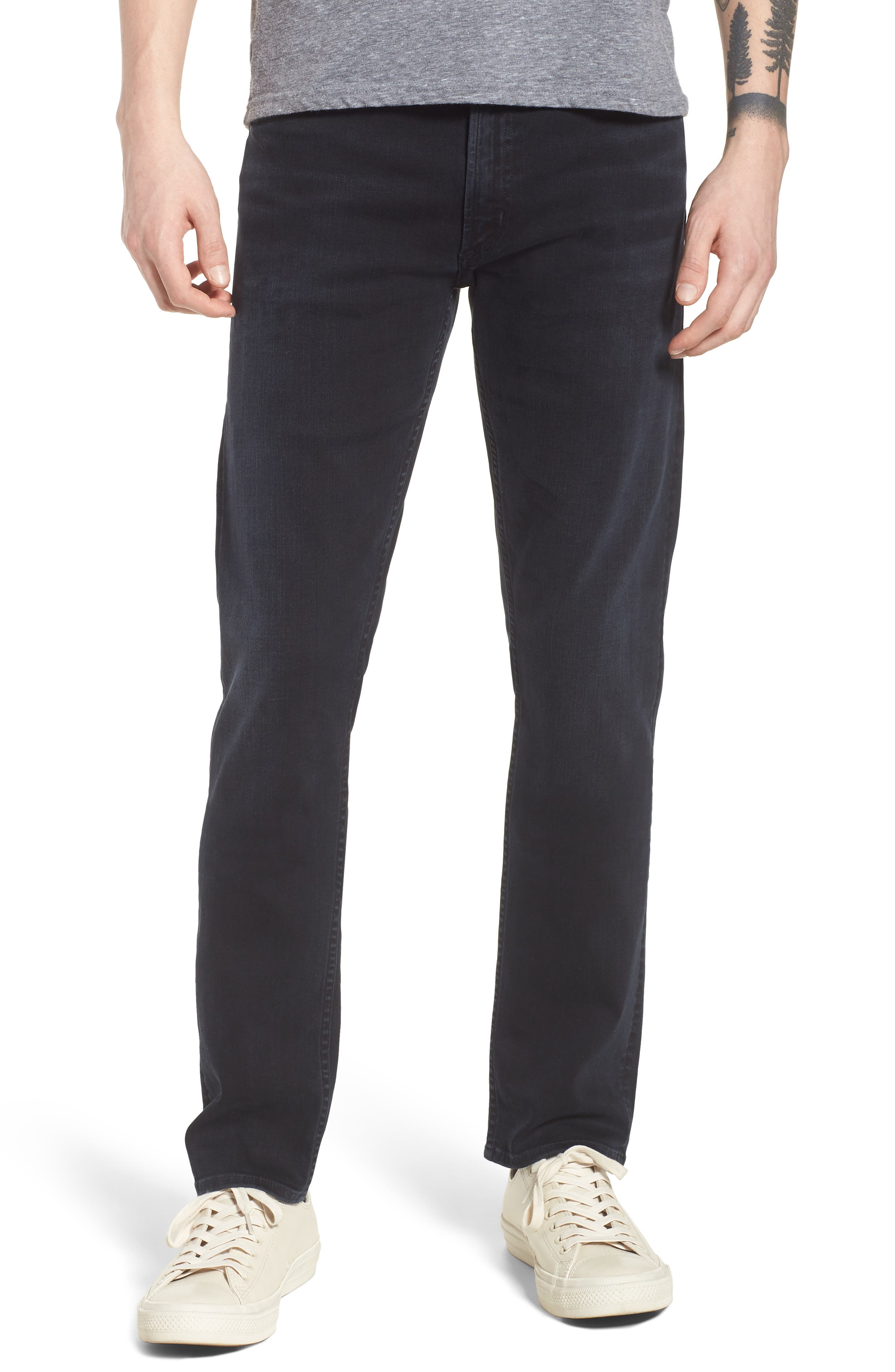 Bowery Slim Fit Jeans,                             Main thumbnail 1, color,                             Ink