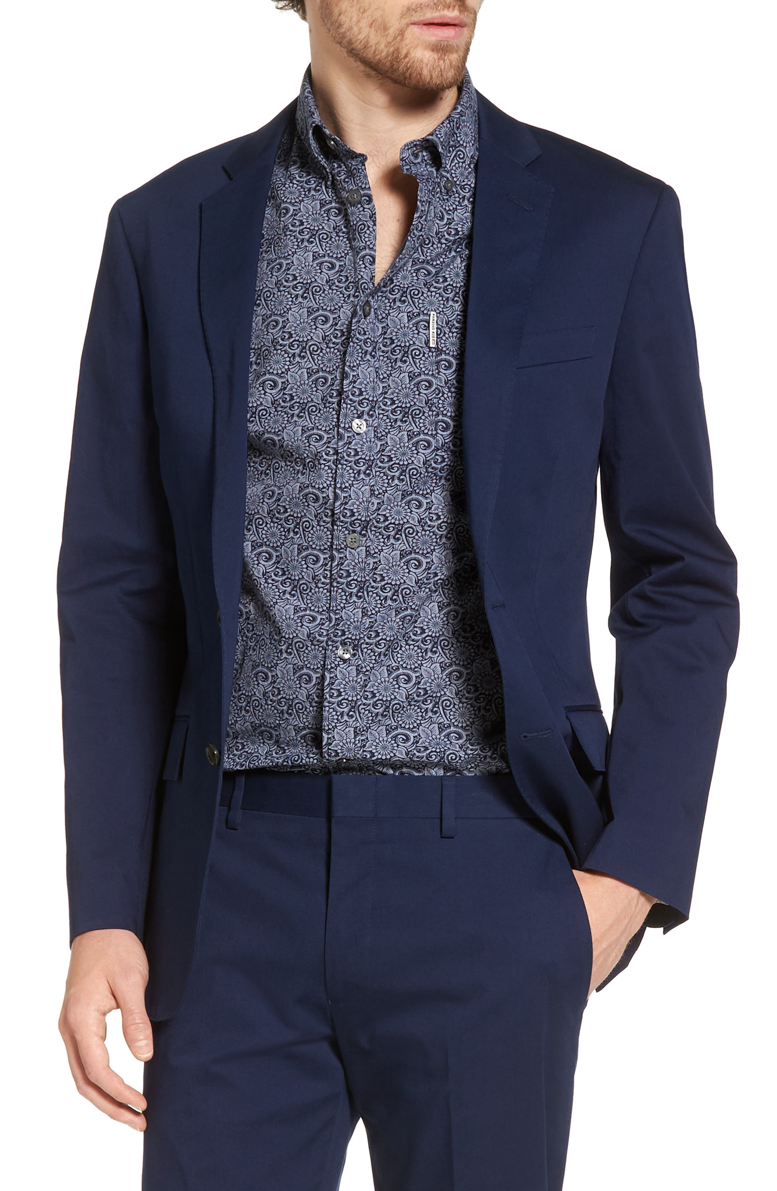 J.Crew Ludlow Stretch Chino Blazer