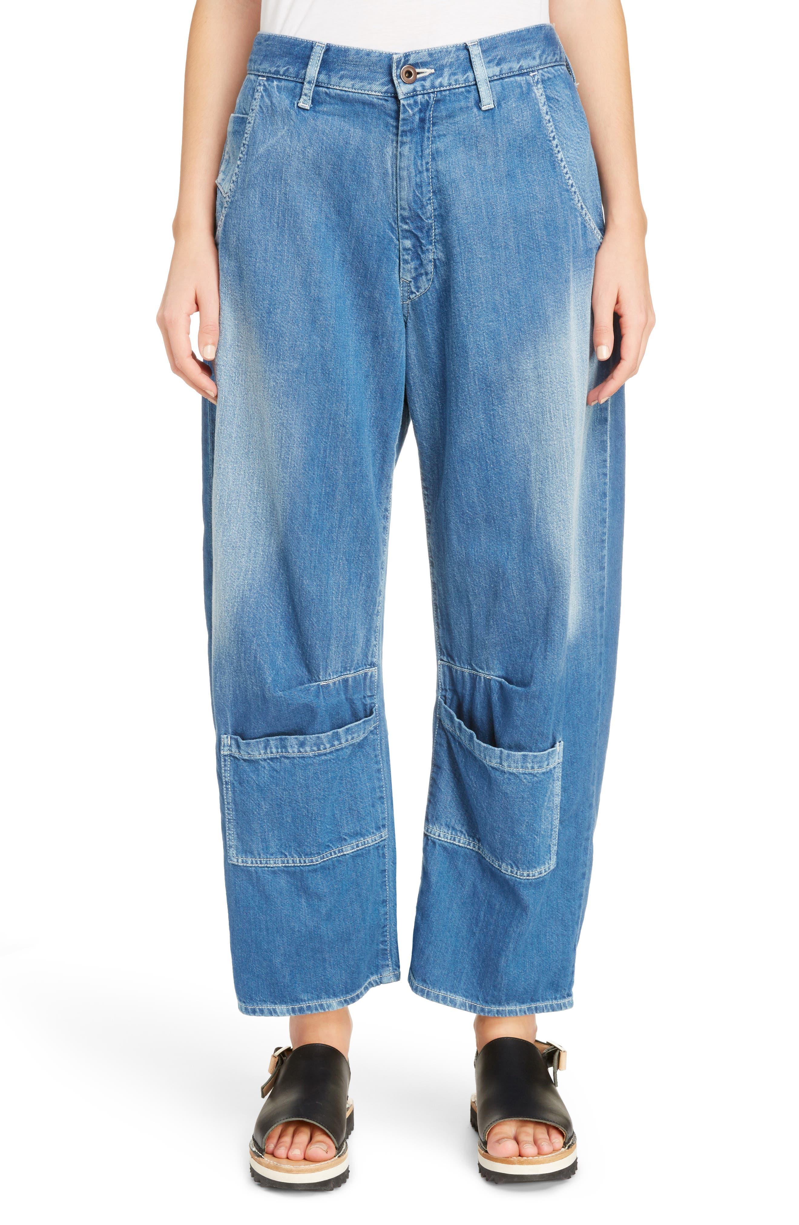 Y's by Yohji Yamamoto Oversized Pocket Jeans