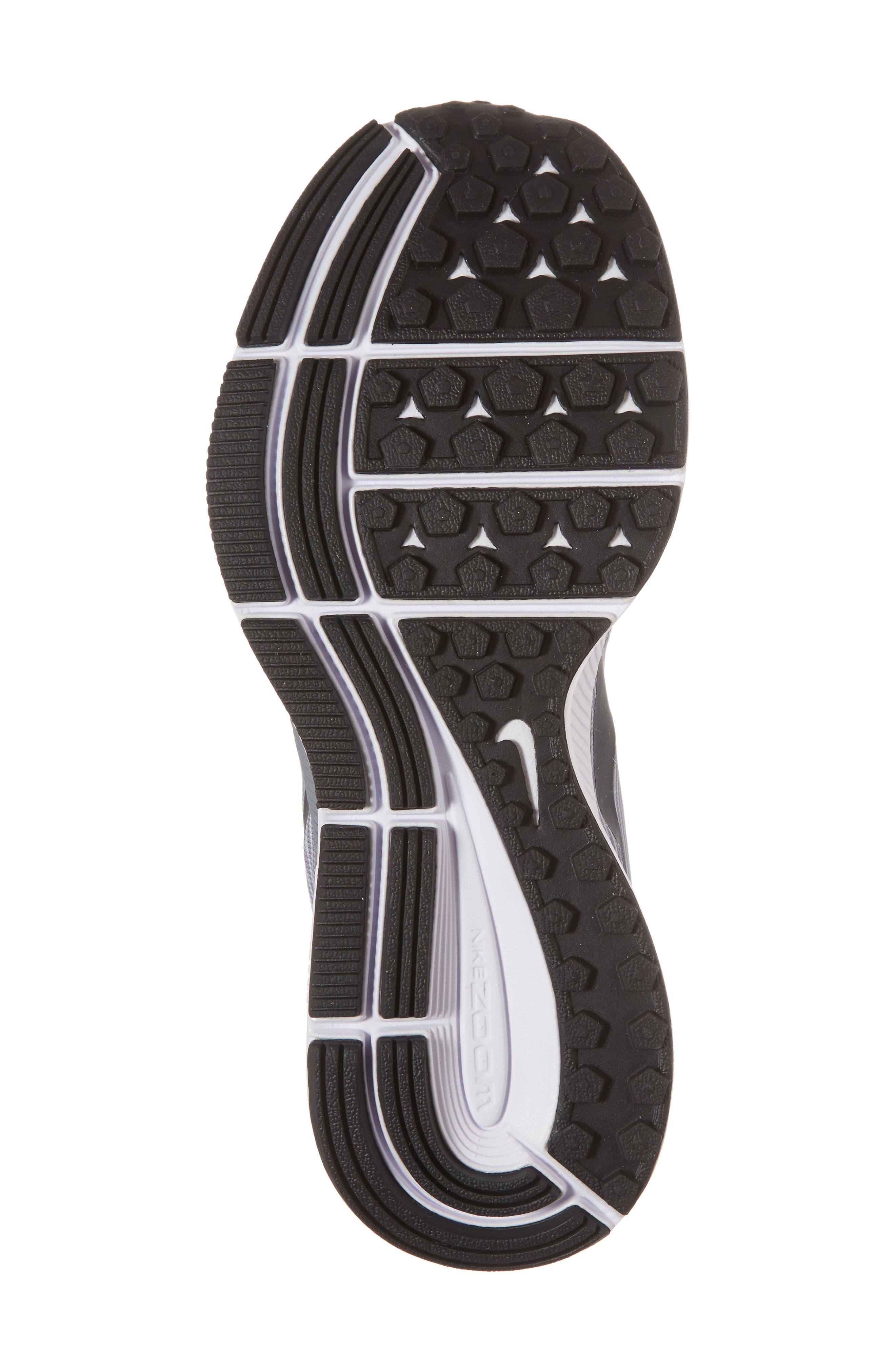 Zoom Pegasus 34 Sneaker,                             Alternate thumbnail 6, color,                             Platinum/ Anthracite/ Grey