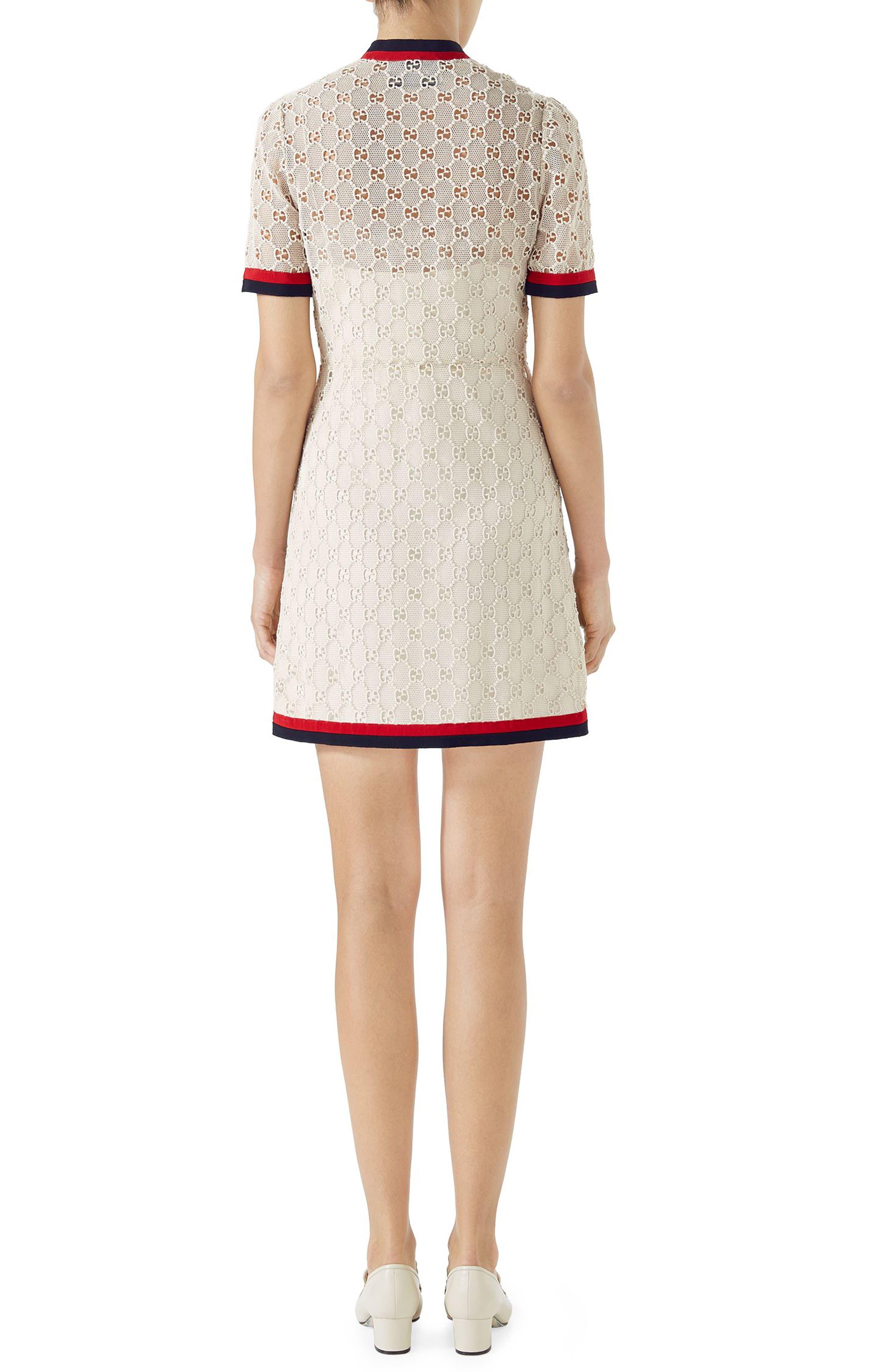 Alternate Image 2  - Gucci GG Macramé Dress