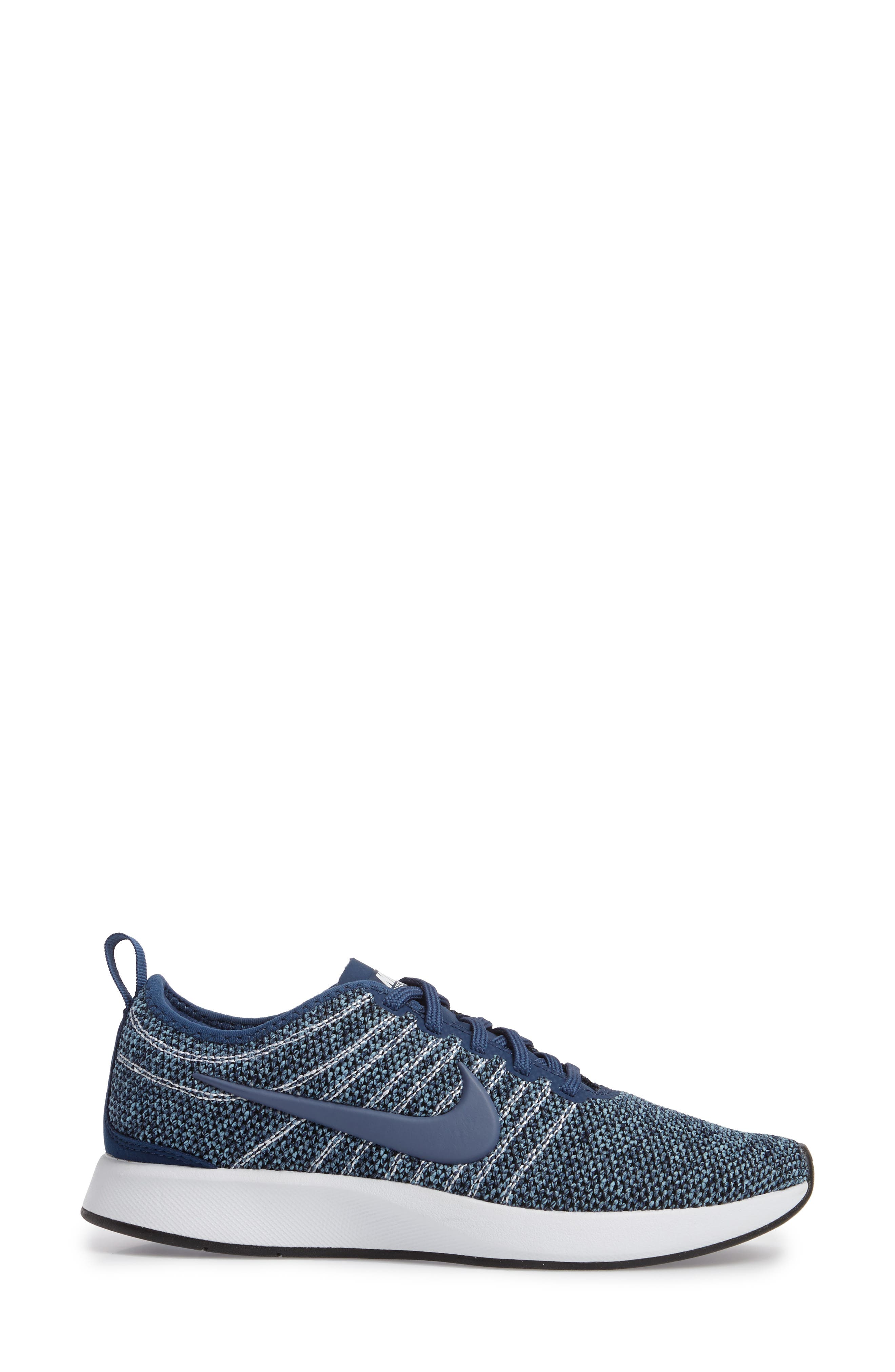 Dualtone Racer PRM Sneaker,                             Alternate thumbnail 3, color,                             Navy/ Diffused Blue
