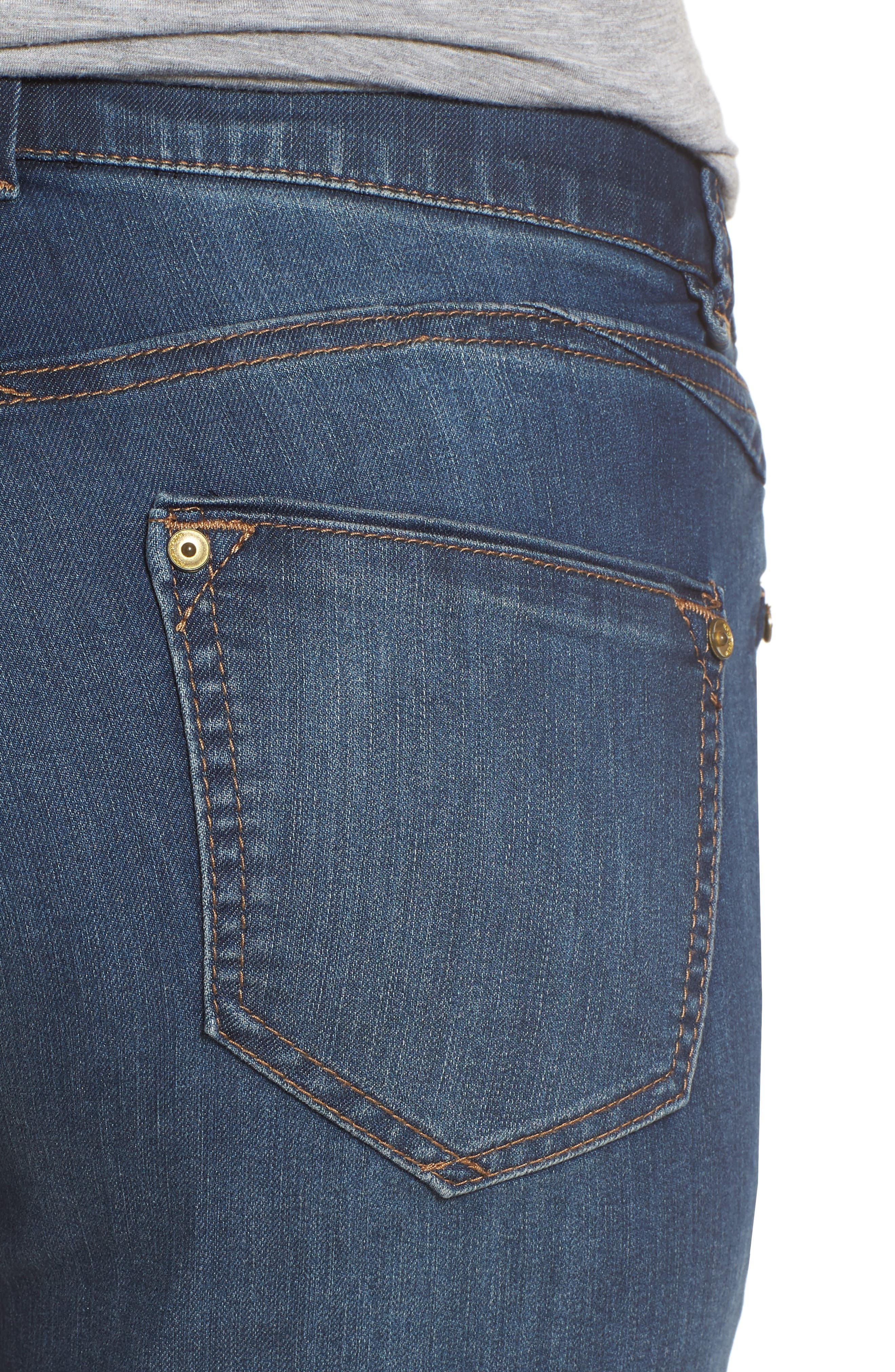 Alternate Image 4  - Wit & Wisdom Ab-solution Cuffed Denim Shorts (Nordstrom Exclusive)