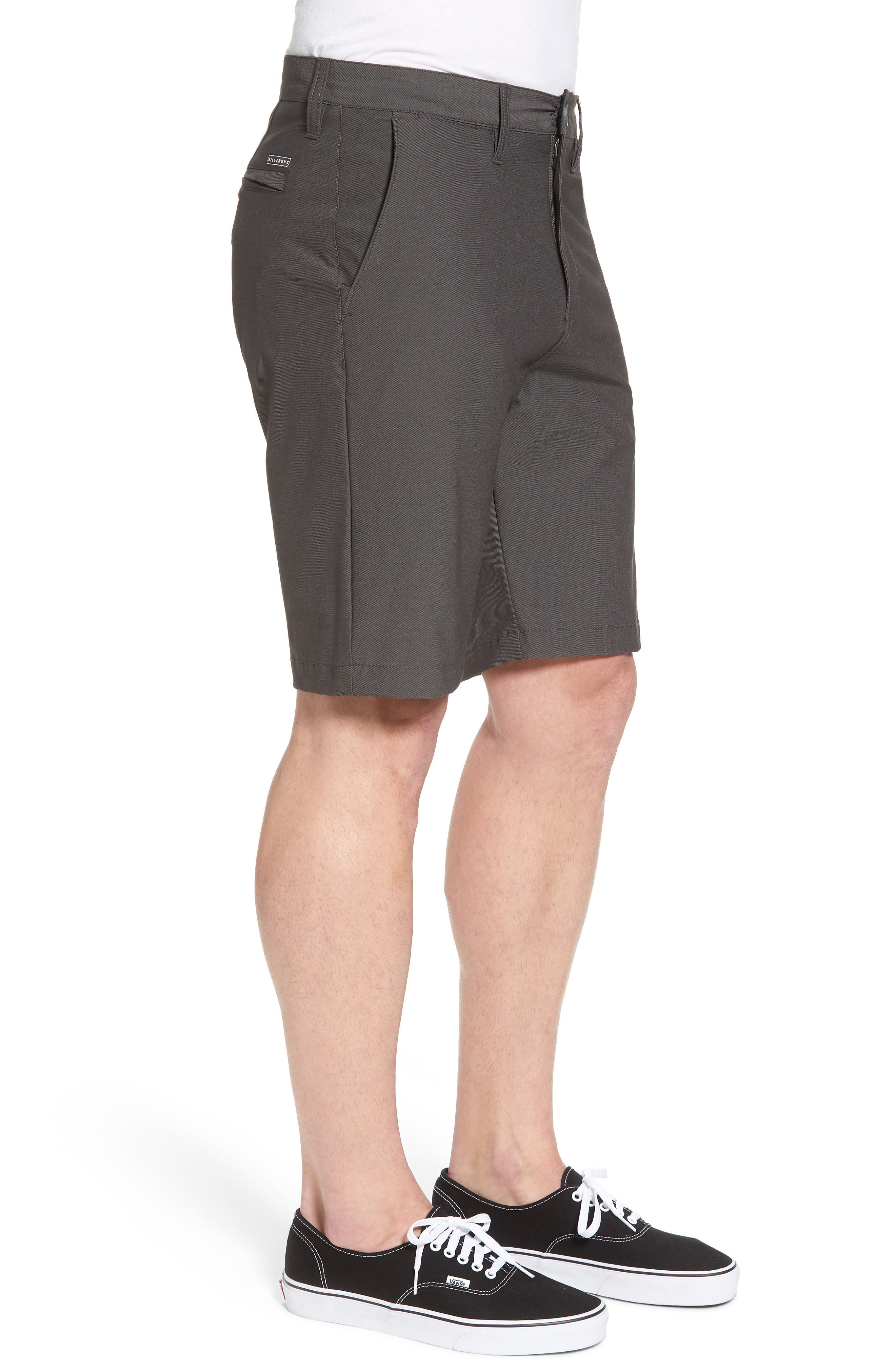 Crossfire X Submersible Twill Shorts,                             Alternate thumbnail 3, color,                             Black