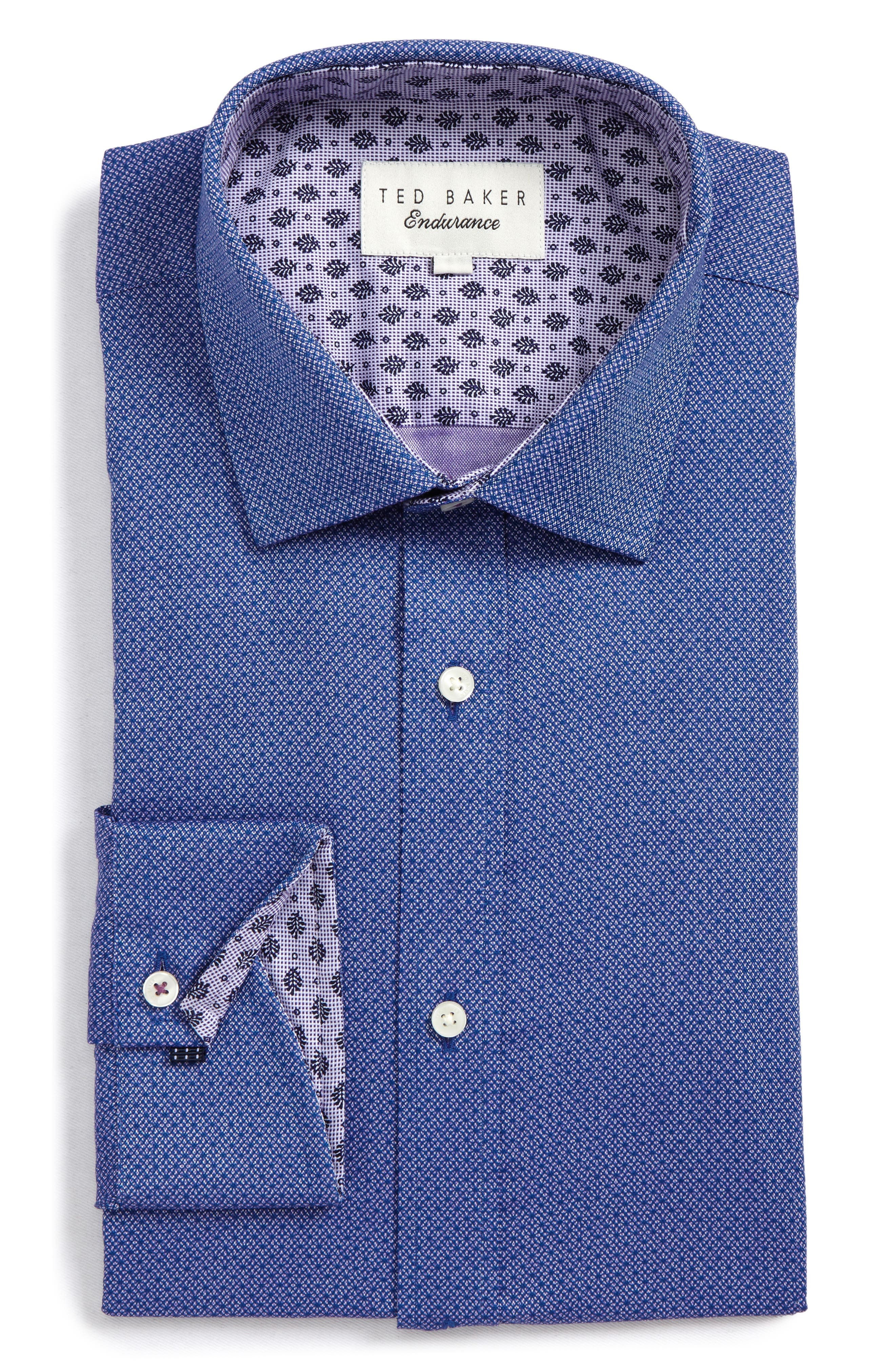 Ted Baker London Endurance Murphy Trim Fit Dress Shirt