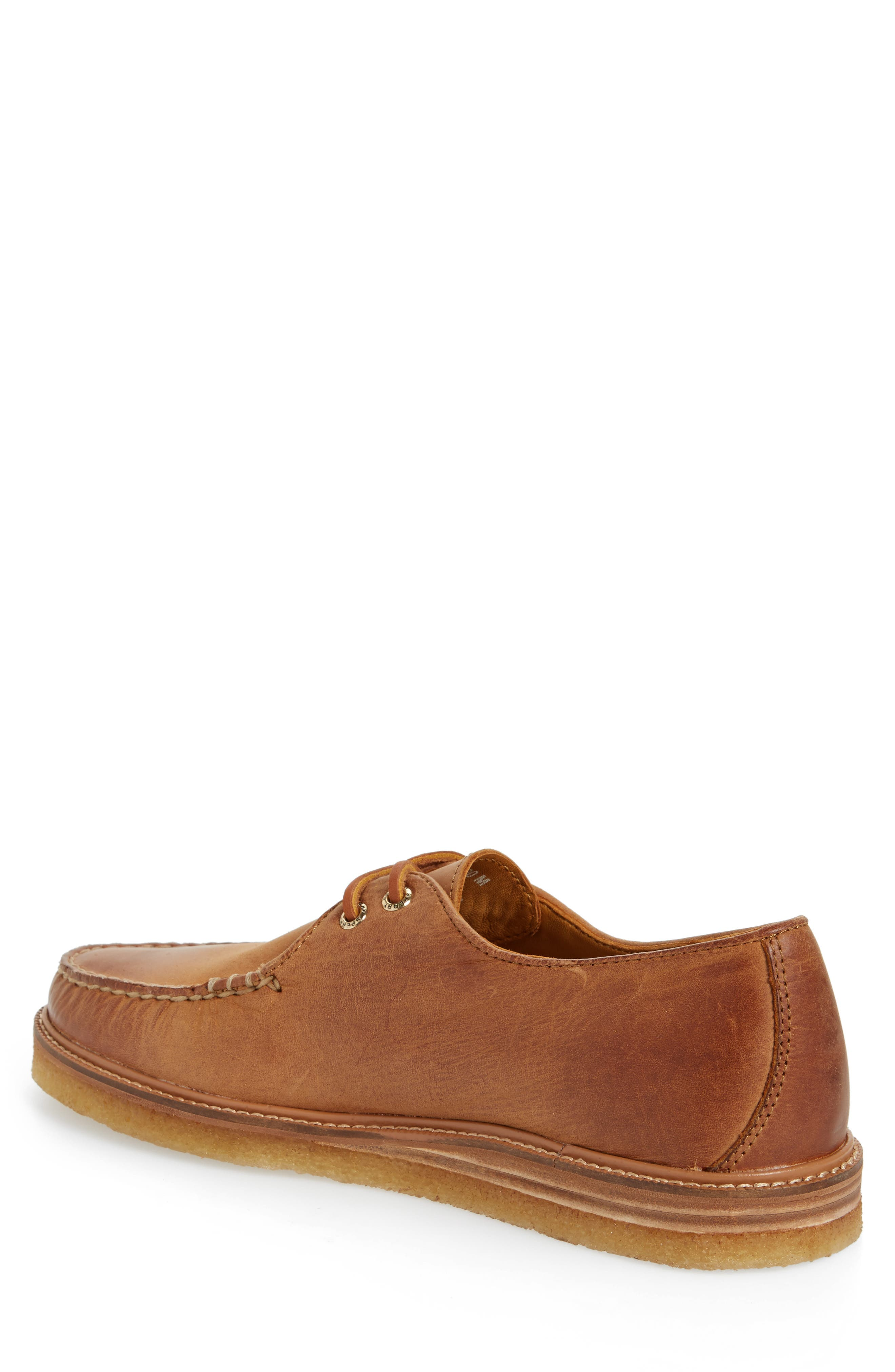 Gold Cup Captain's Crepe Sole Oxford,                             Alternate thumbnail 2, color,                             Tan Leather
