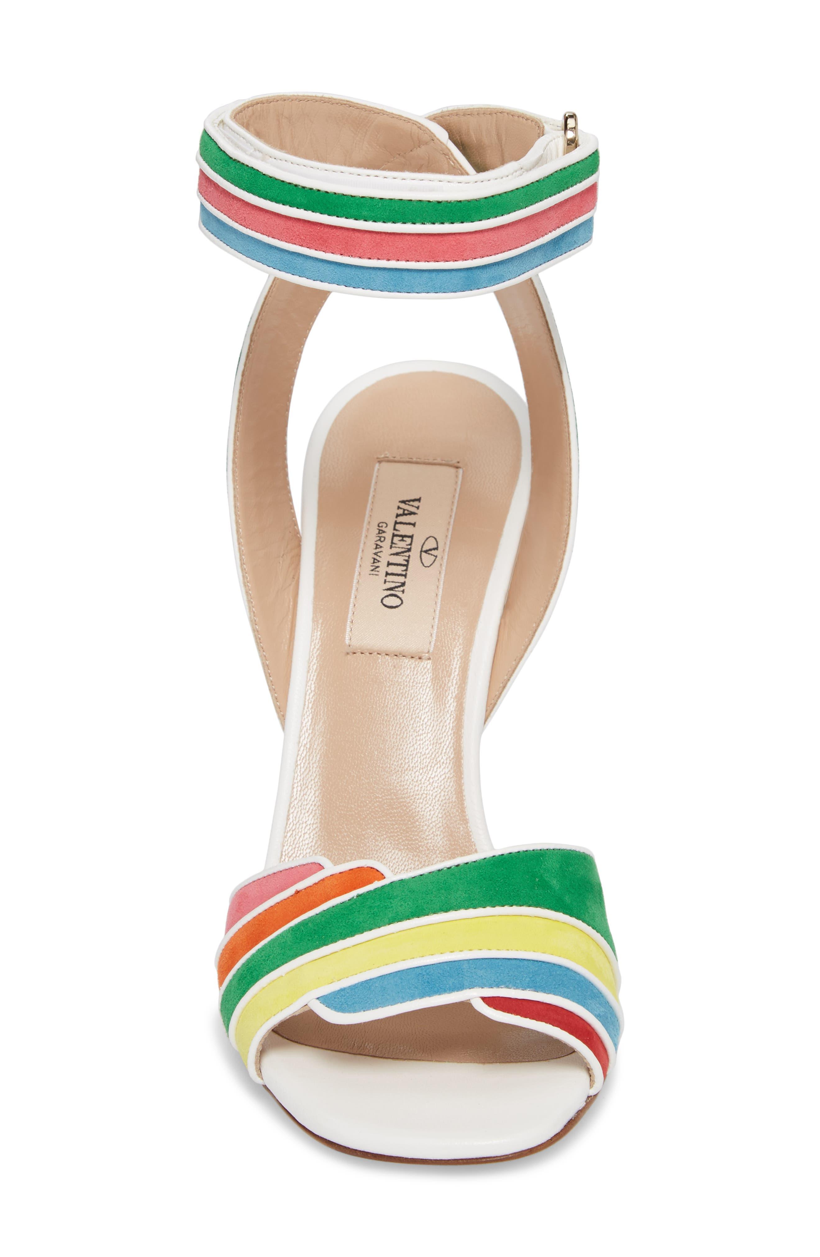 Alternate Image 4  - VALENTINO GARAVANI Rainbow Sandal (Women)