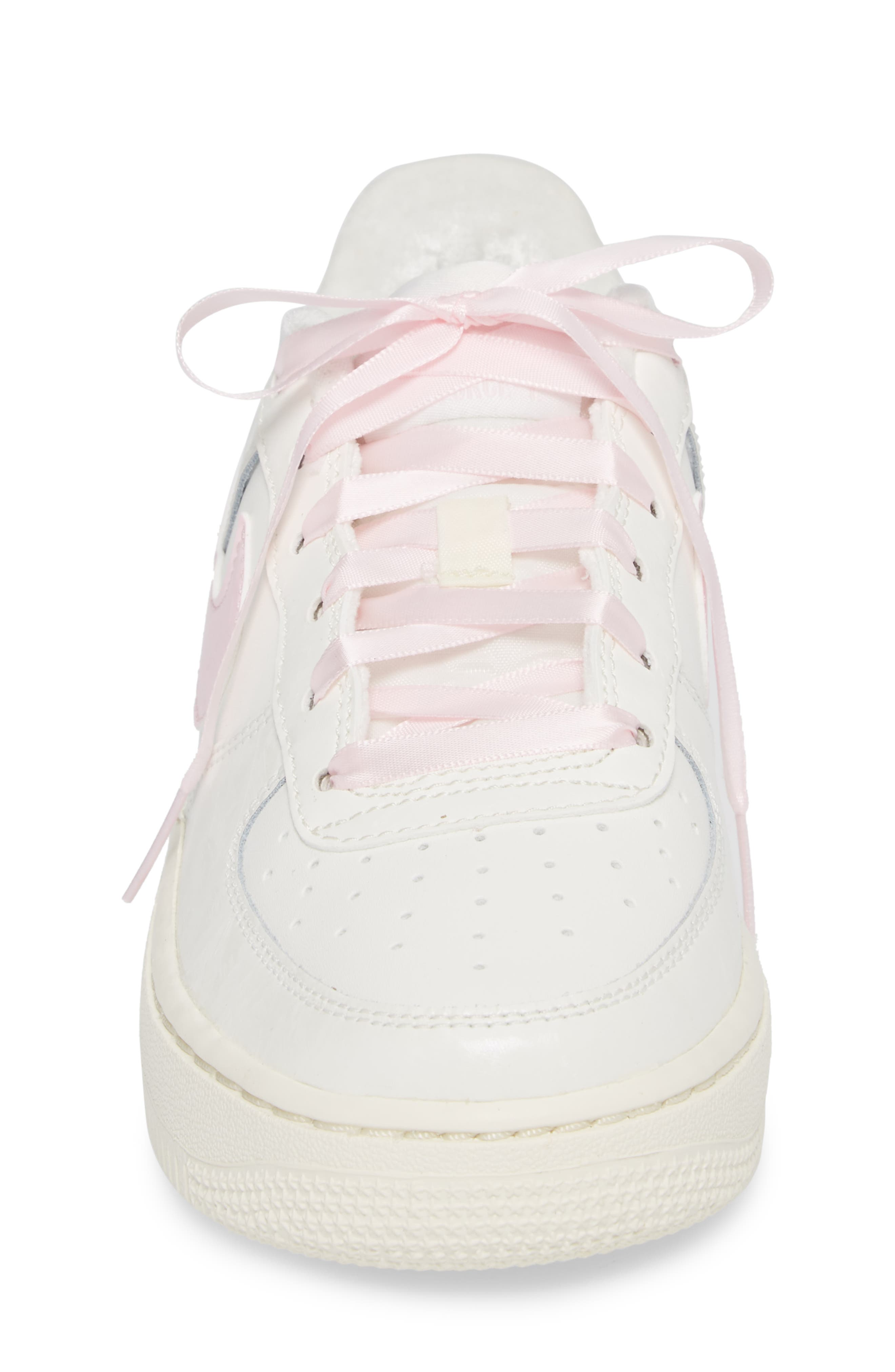 Air Force 1 '06 Sneaker,                             Alternate thumbnail 4, color,                             Sail/ Arctic Pink