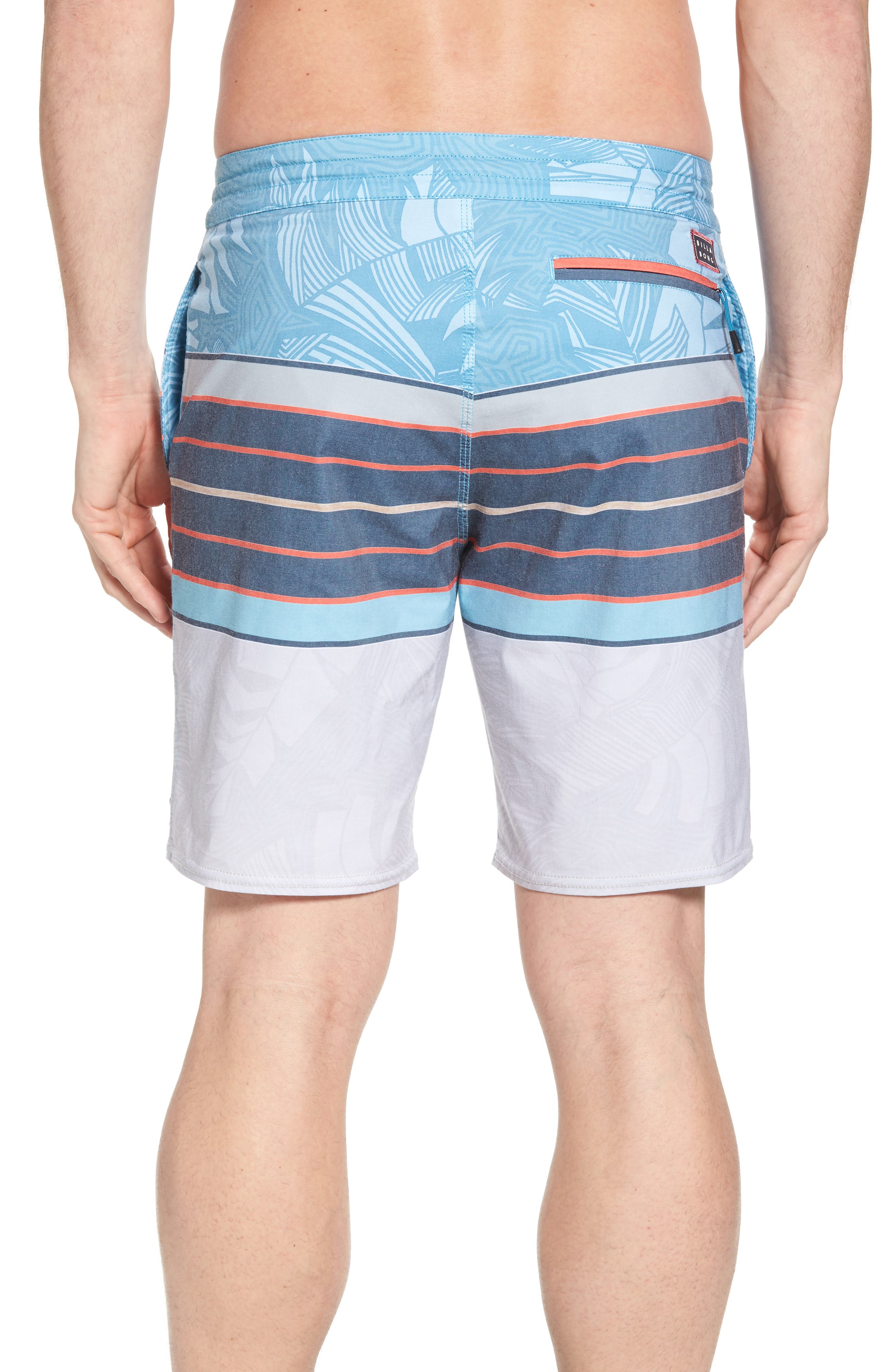 Stringer Lo Tides Board Shorts,                             Alternate thumbnail 2, color,                             Blue