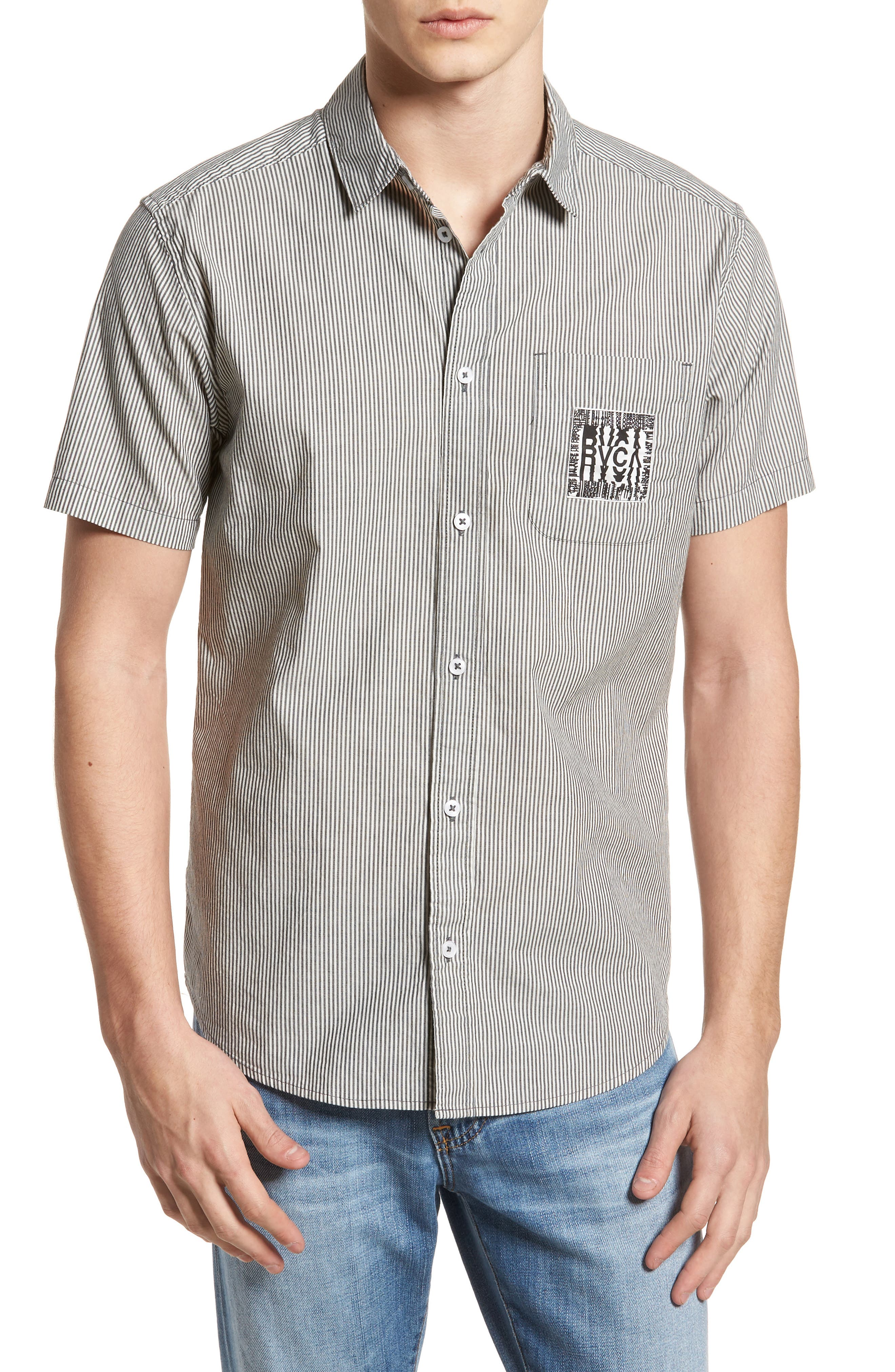 RVCA resort Disruption Woven Shirt