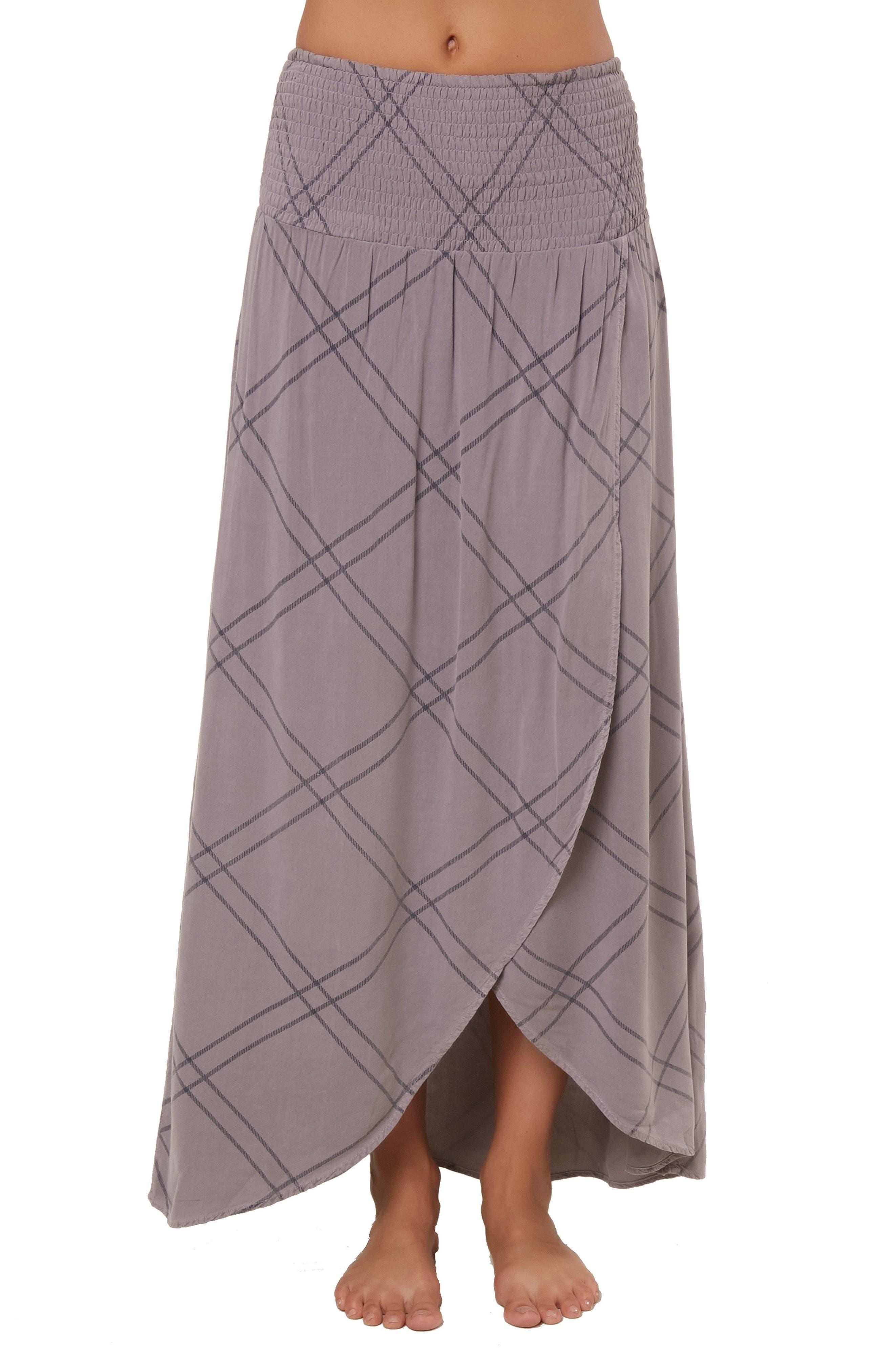 O'Neill Tamarinda Smock Waist Maxi Skirt