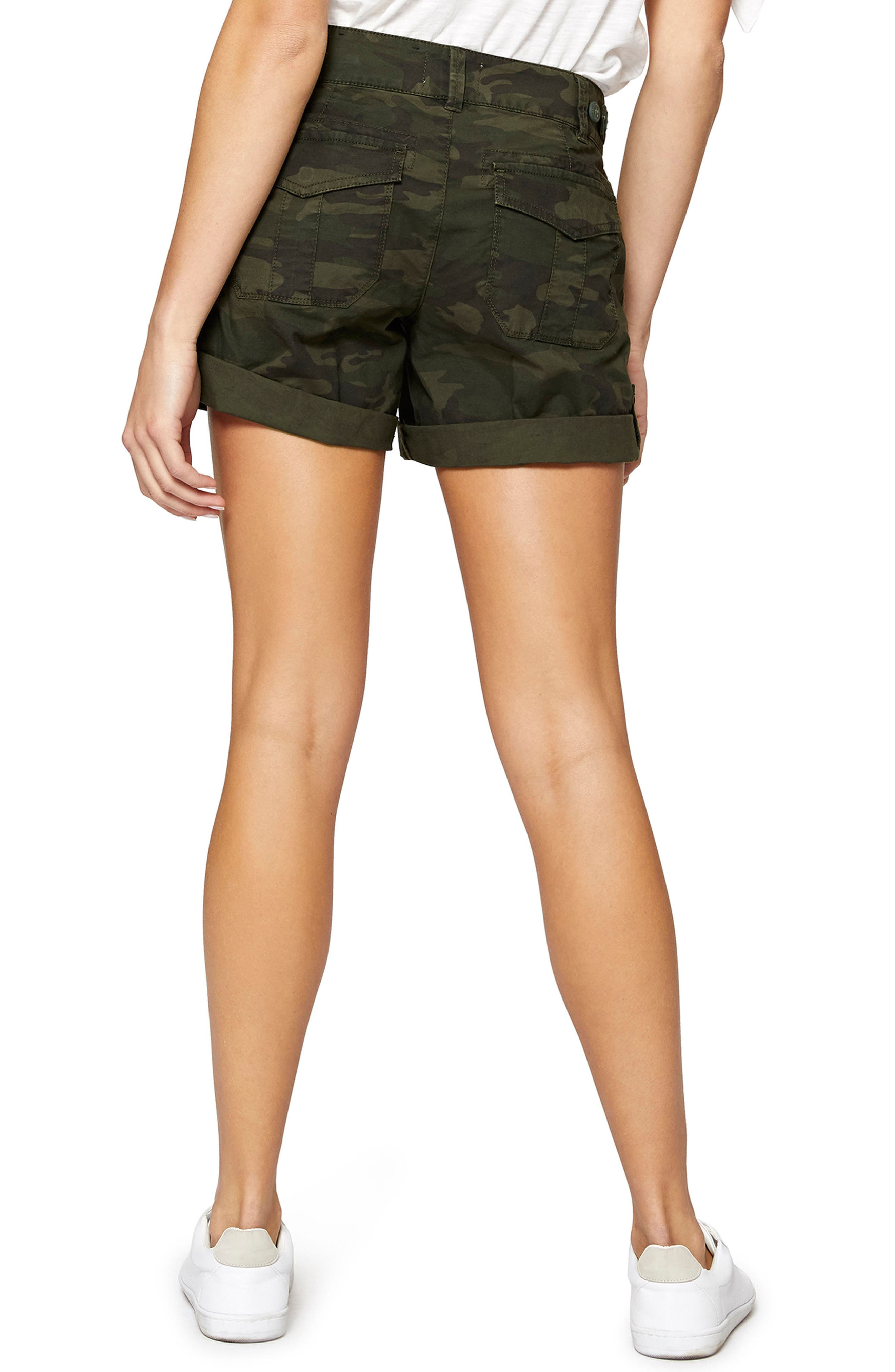 Wanderer Camouflage Shorts,                             Alternate thumbnail 2, color,                             Mother Nature Camo