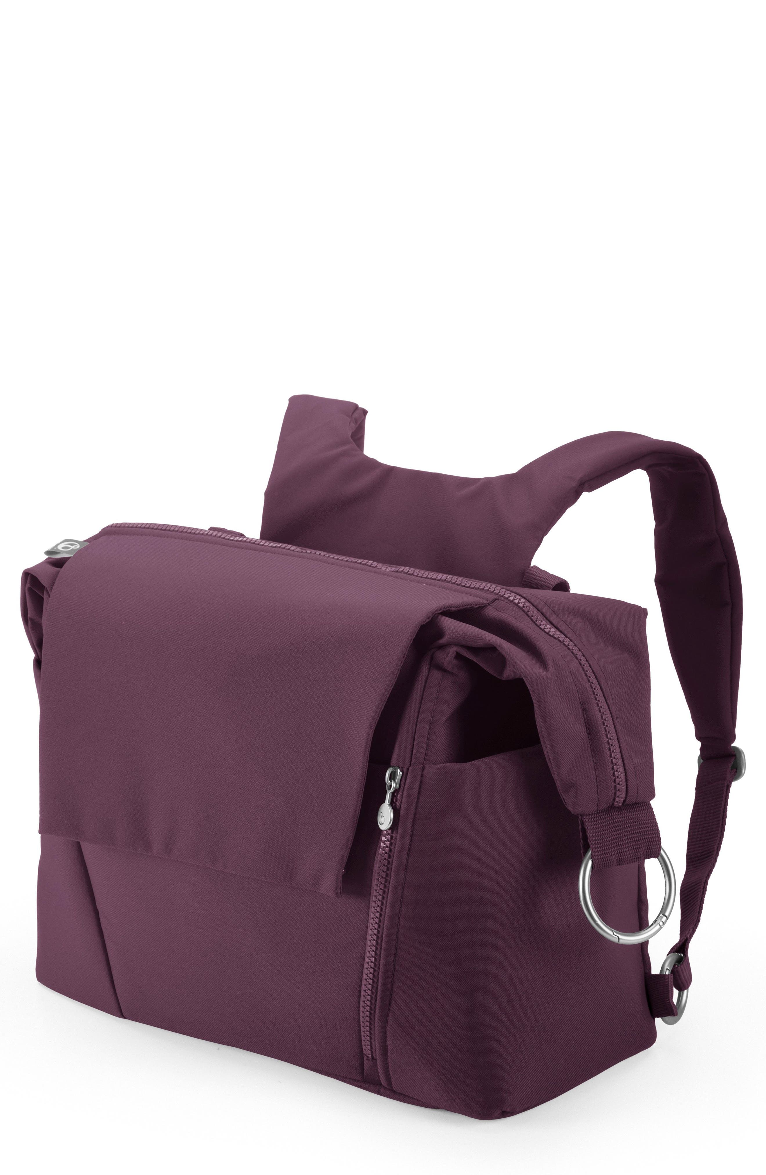 Diaper Bag,                         Main,                         color, Purple