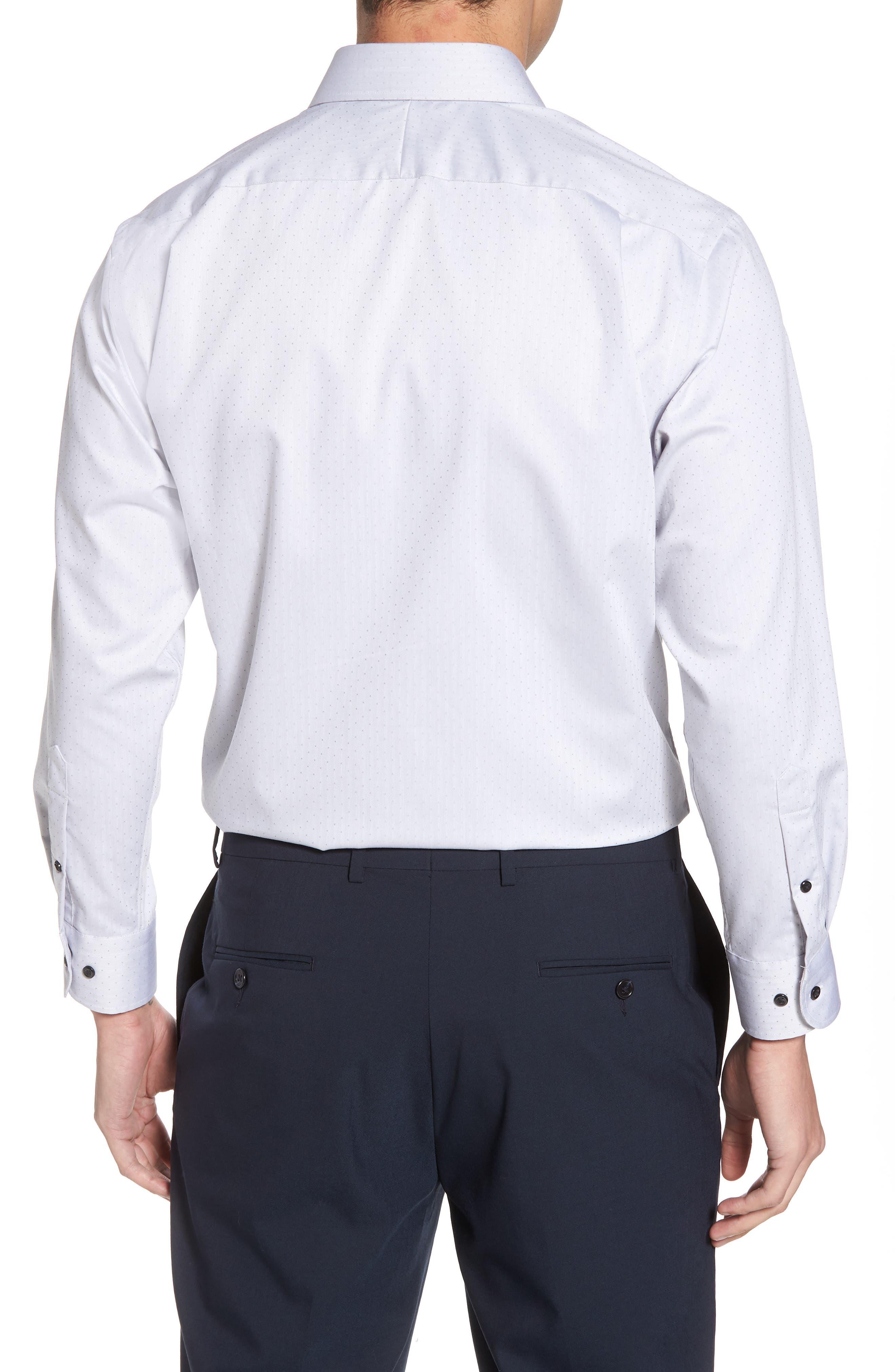 Alternate Image 2  - Nordstrom Men's Shop Traditional Fit Non-Iron Dress Shirt