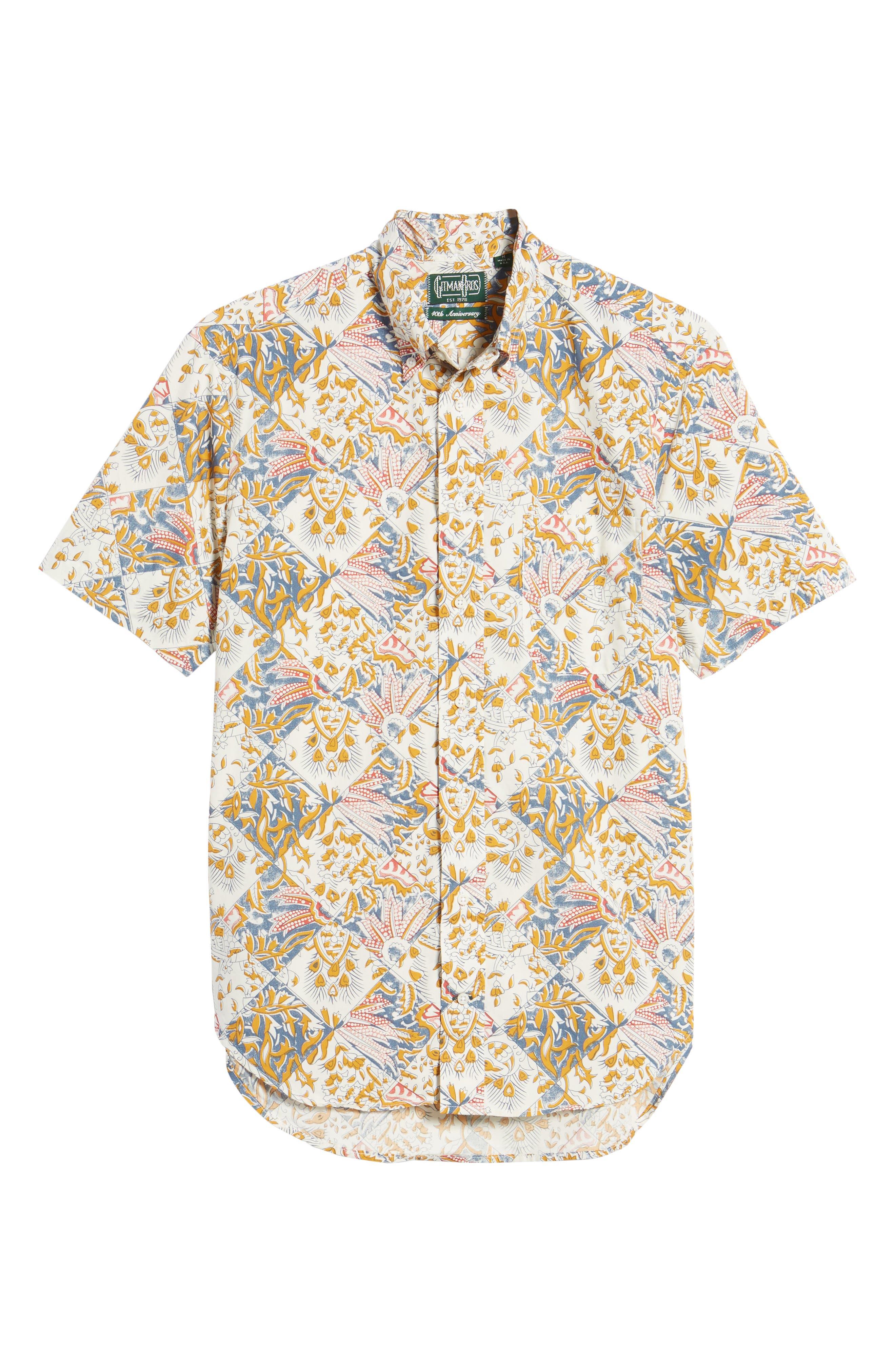 Camp Shirt,                             Alternate thumbnail 6, color,                             Multi