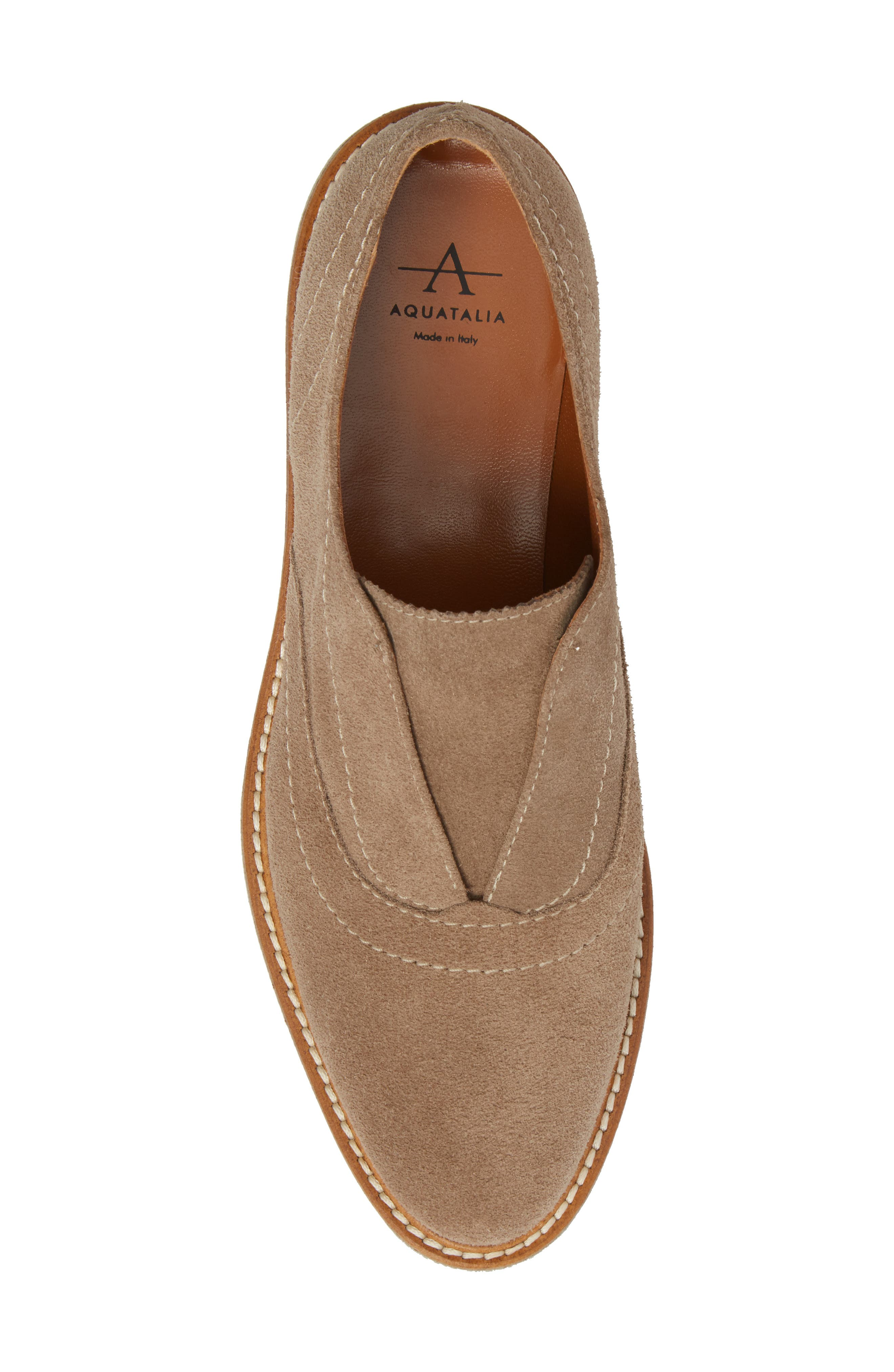 Kaleigh Weatherproof Loafer,                             Alternate thumbnail 5, color,                             Taupe