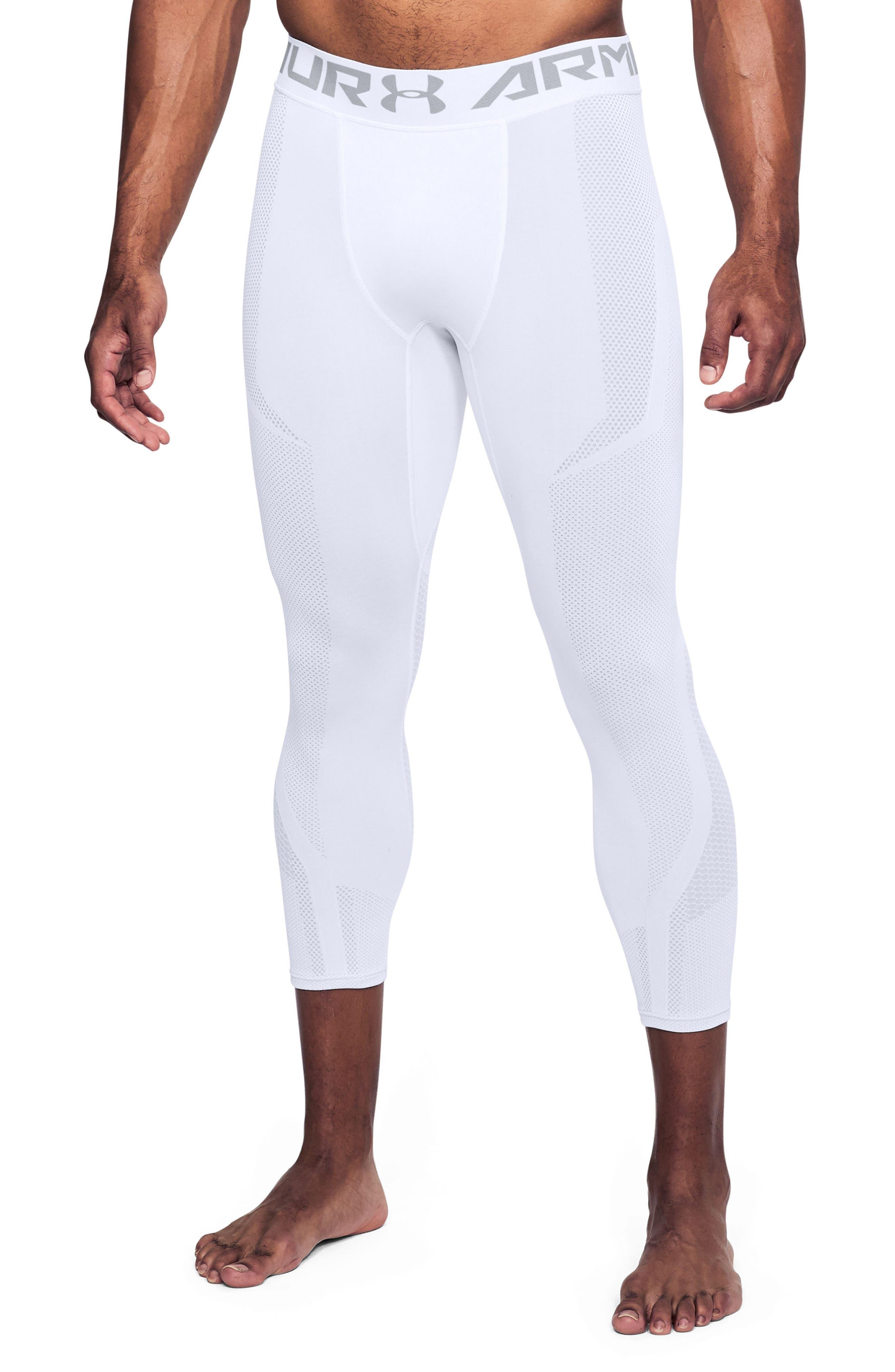 Threadborne Seamless Pants,                             Main thumbnail 1, color,                             White/ Overcast Gray