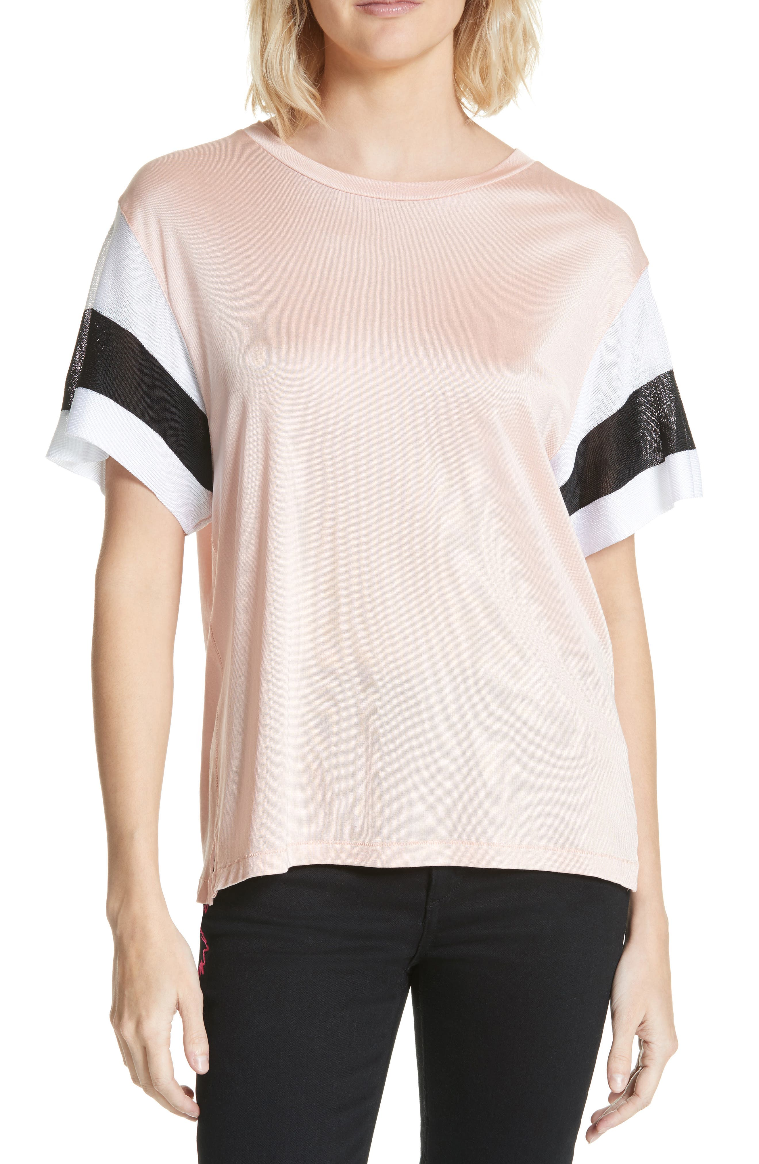 Penny Tee,                         Main,                         color, Pink Rose