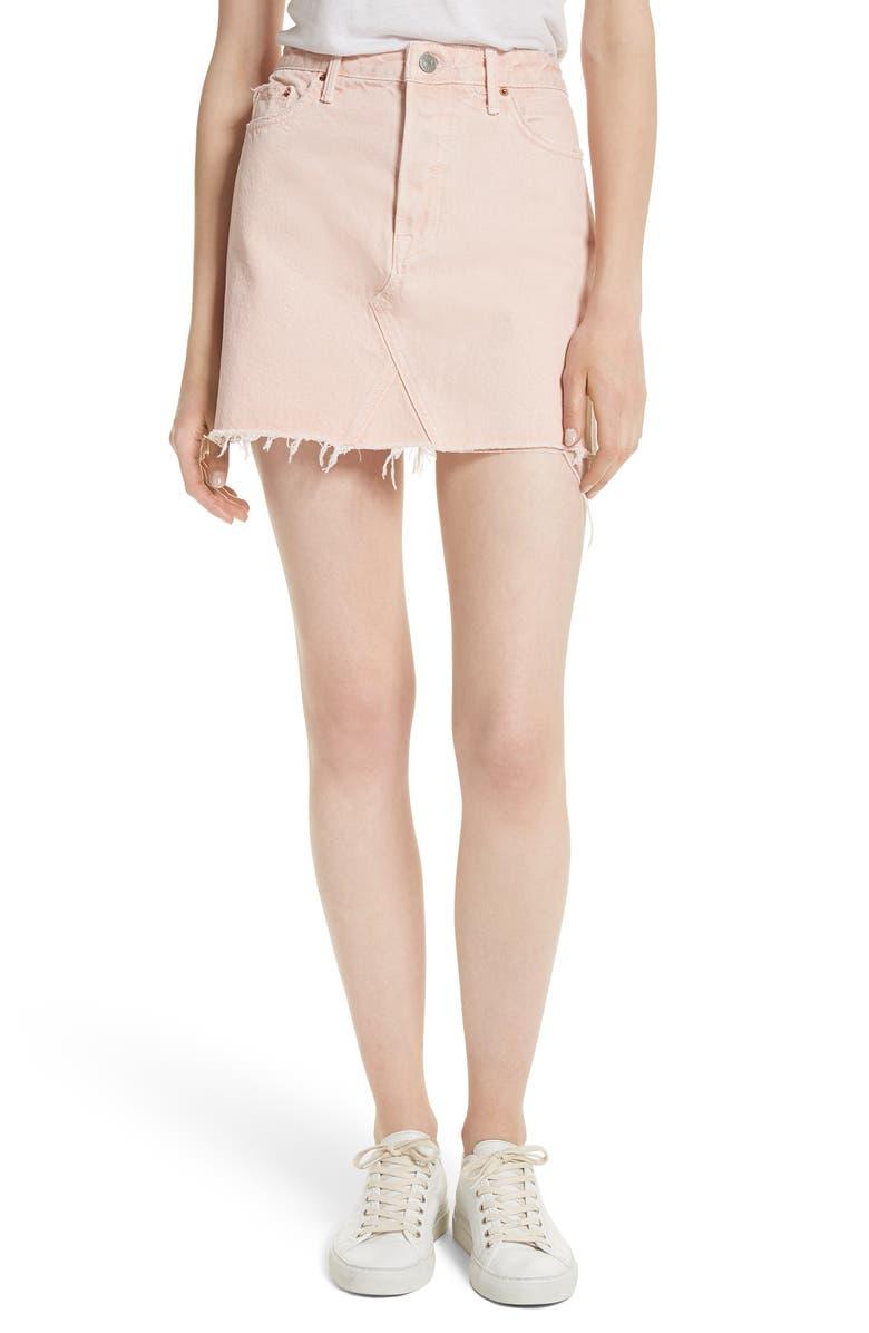 Eva A-Frame Gusset Denim Skirt