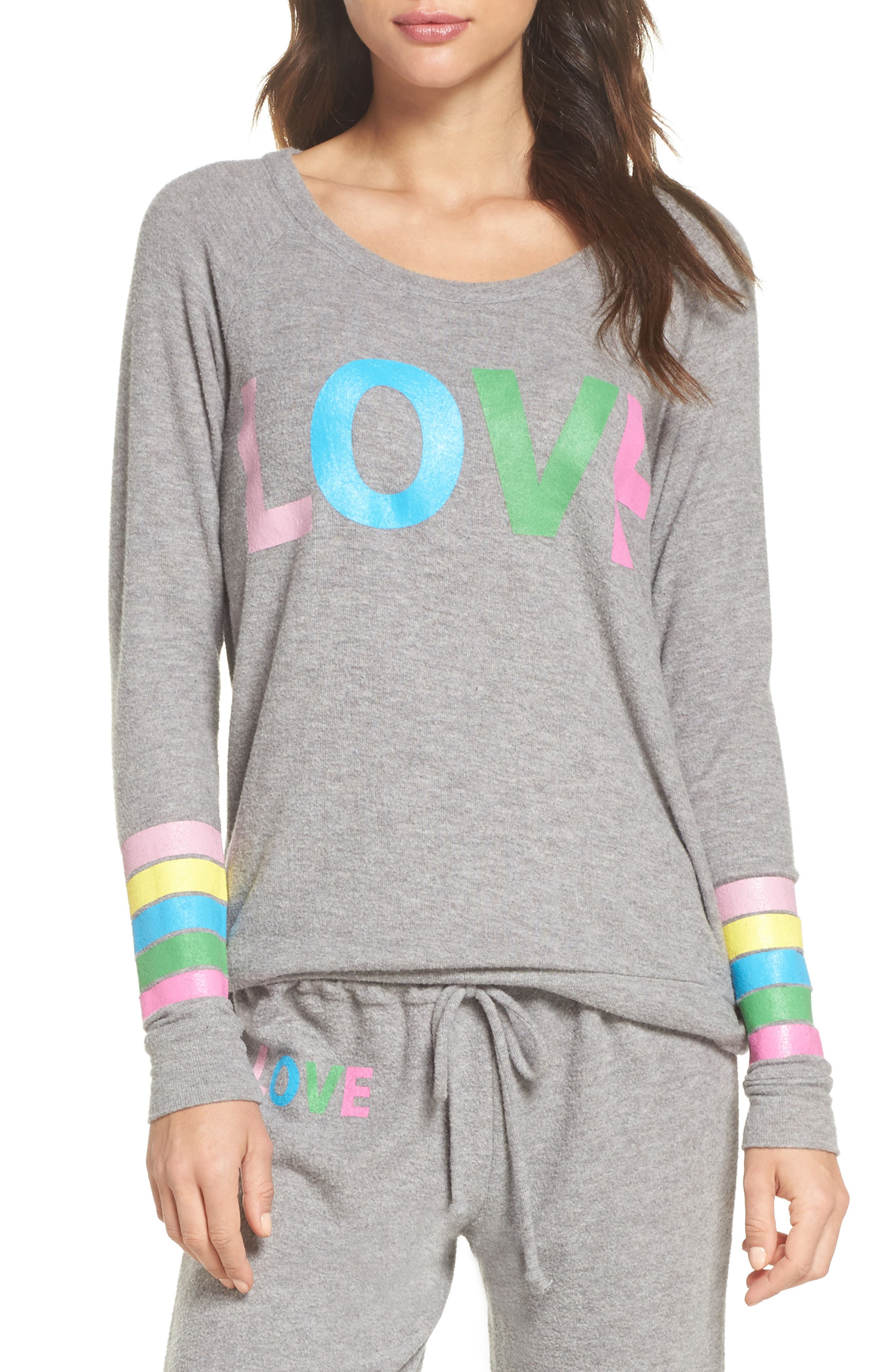 Chaser Love Strappy Back Sweatshirt