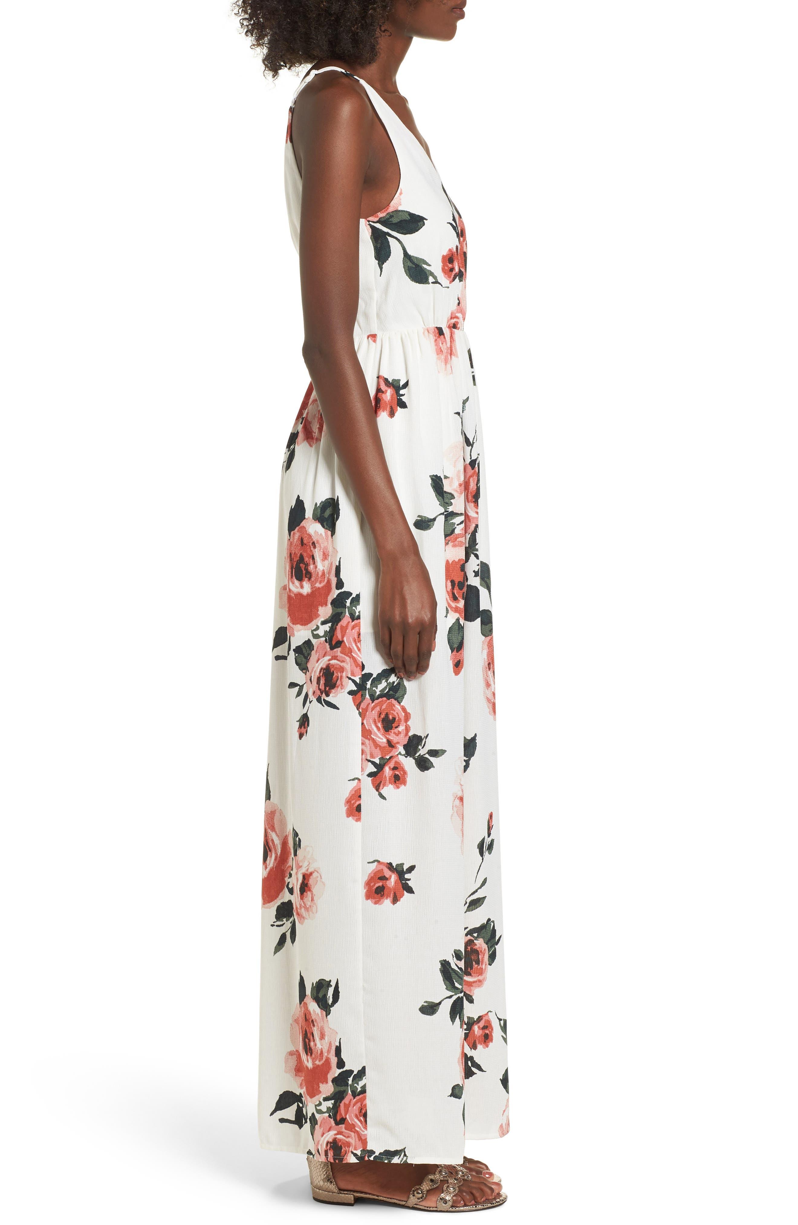 Alternate Image 3  - BP. Floral Print Maxi Dress