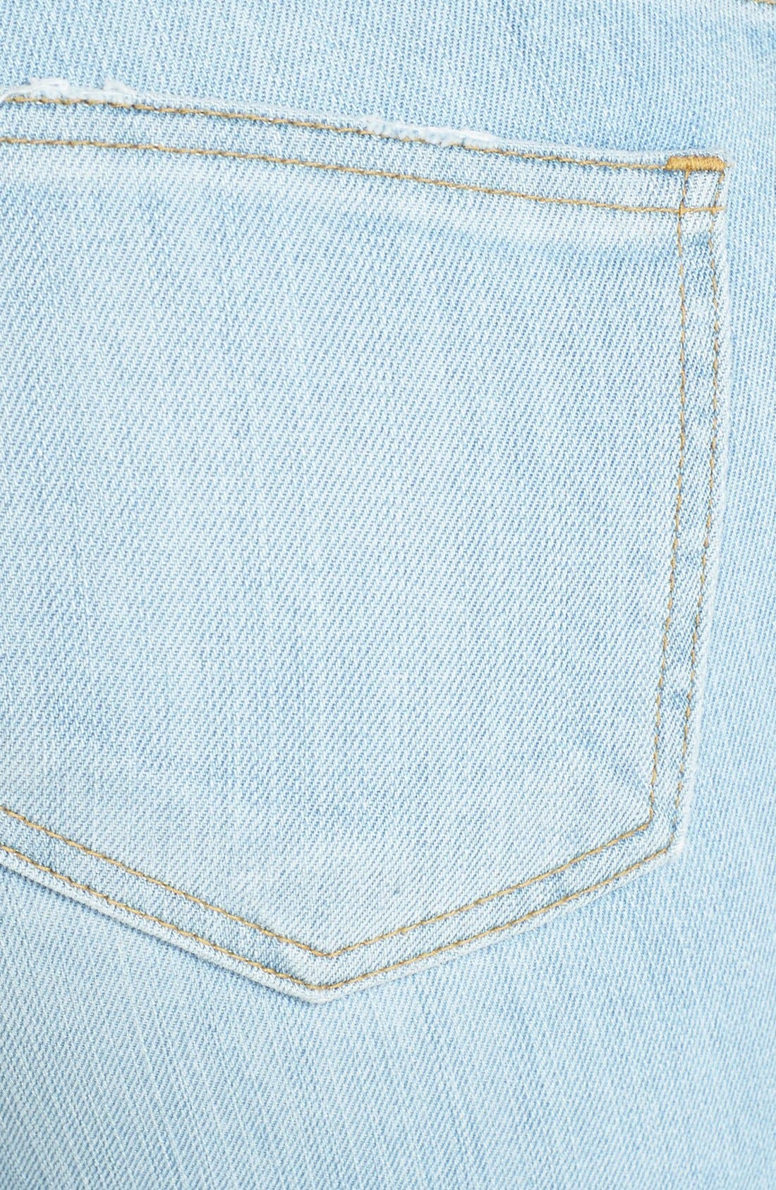 Alternate Image 3  - STS Blue 'Joey' Boyfriend Jeans (Light Wash)
