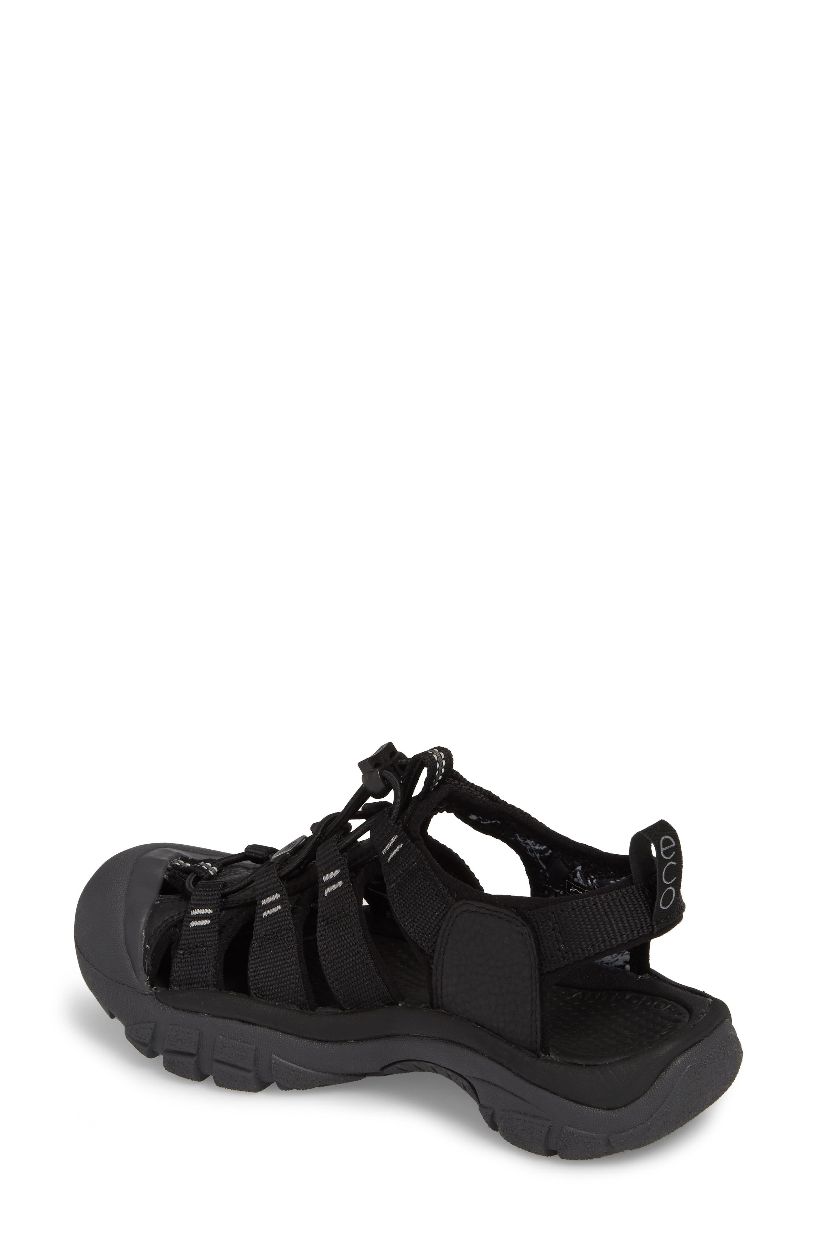 Newport Eco Waterproof Sandal,                             Alternate thumbnail 2, color,                             Black/ Magnet