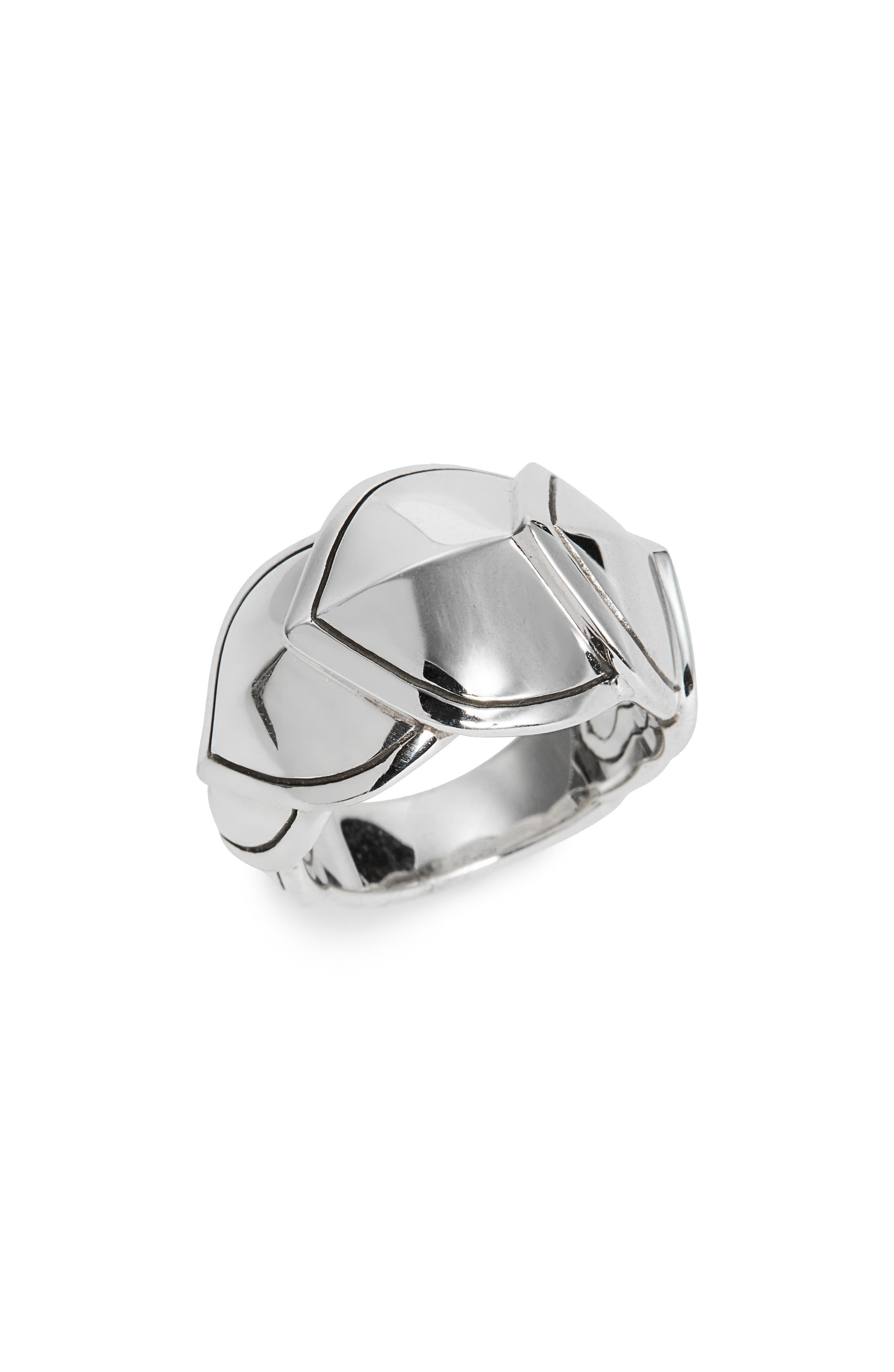 Legends Naga Medium Ring,                         Main,                         color, Silver