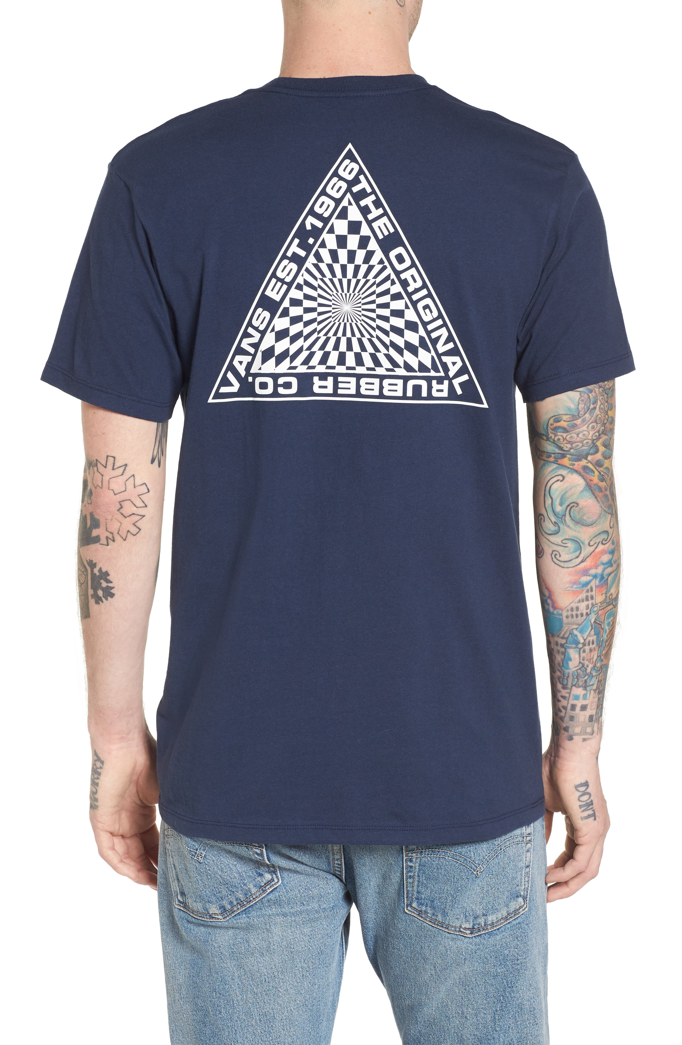 Hypnotics T-Shirt,                             Alternate thumbnail 2, color,                             Dress Blues