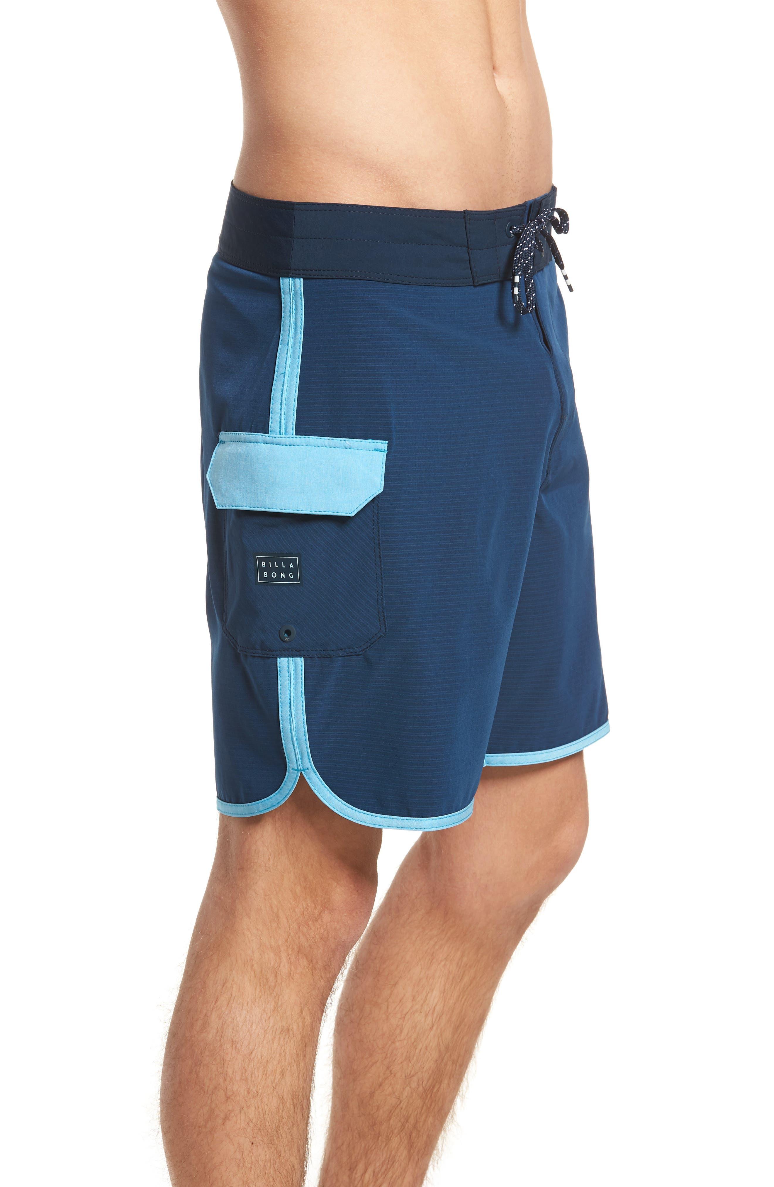 73 X Short Board Shorts,                             Alternate thumbnail 4, color,                             Navy