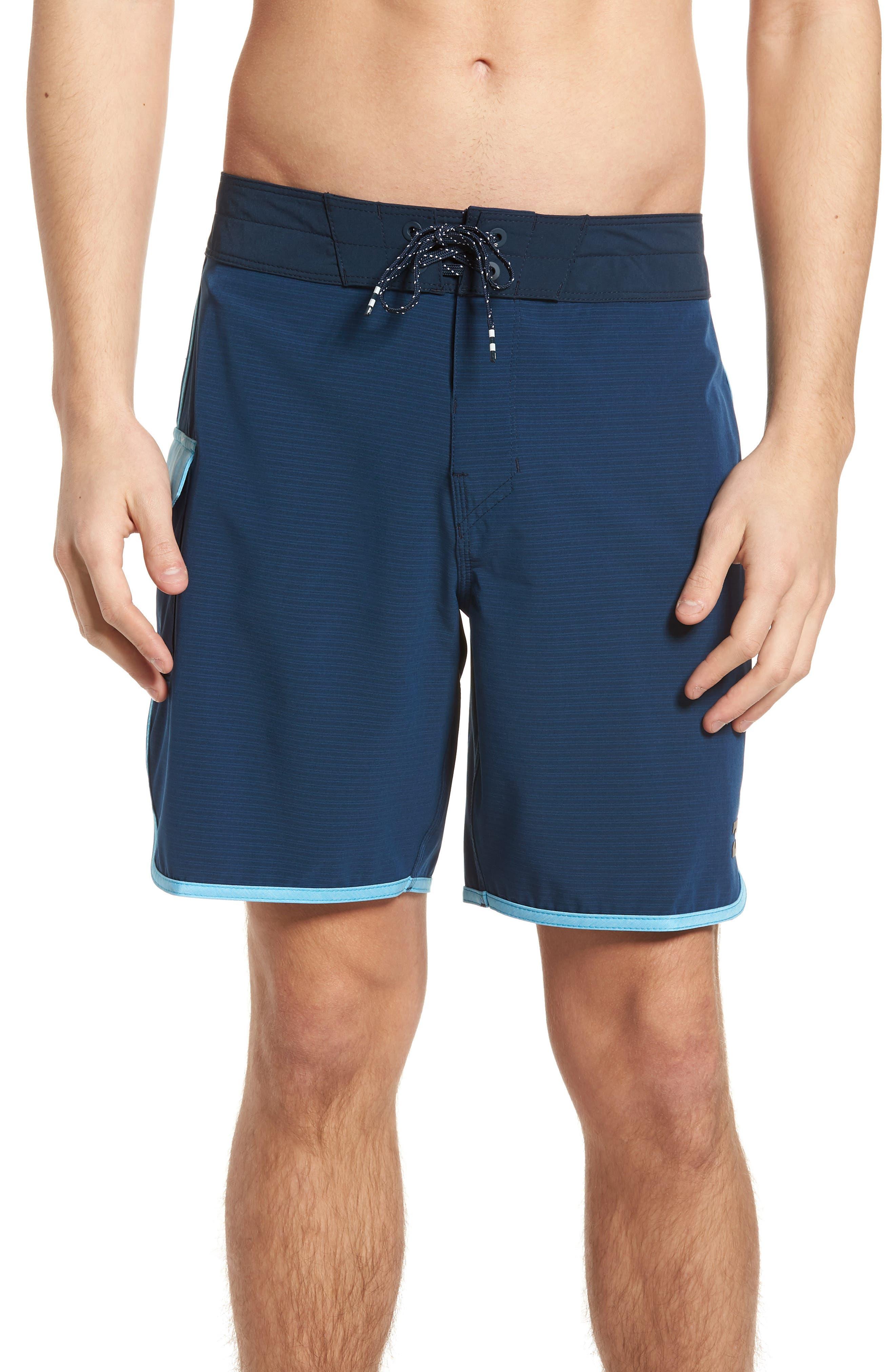 73 X Short Board Shorts,                             Main thumbnail 1, color,                             Navy