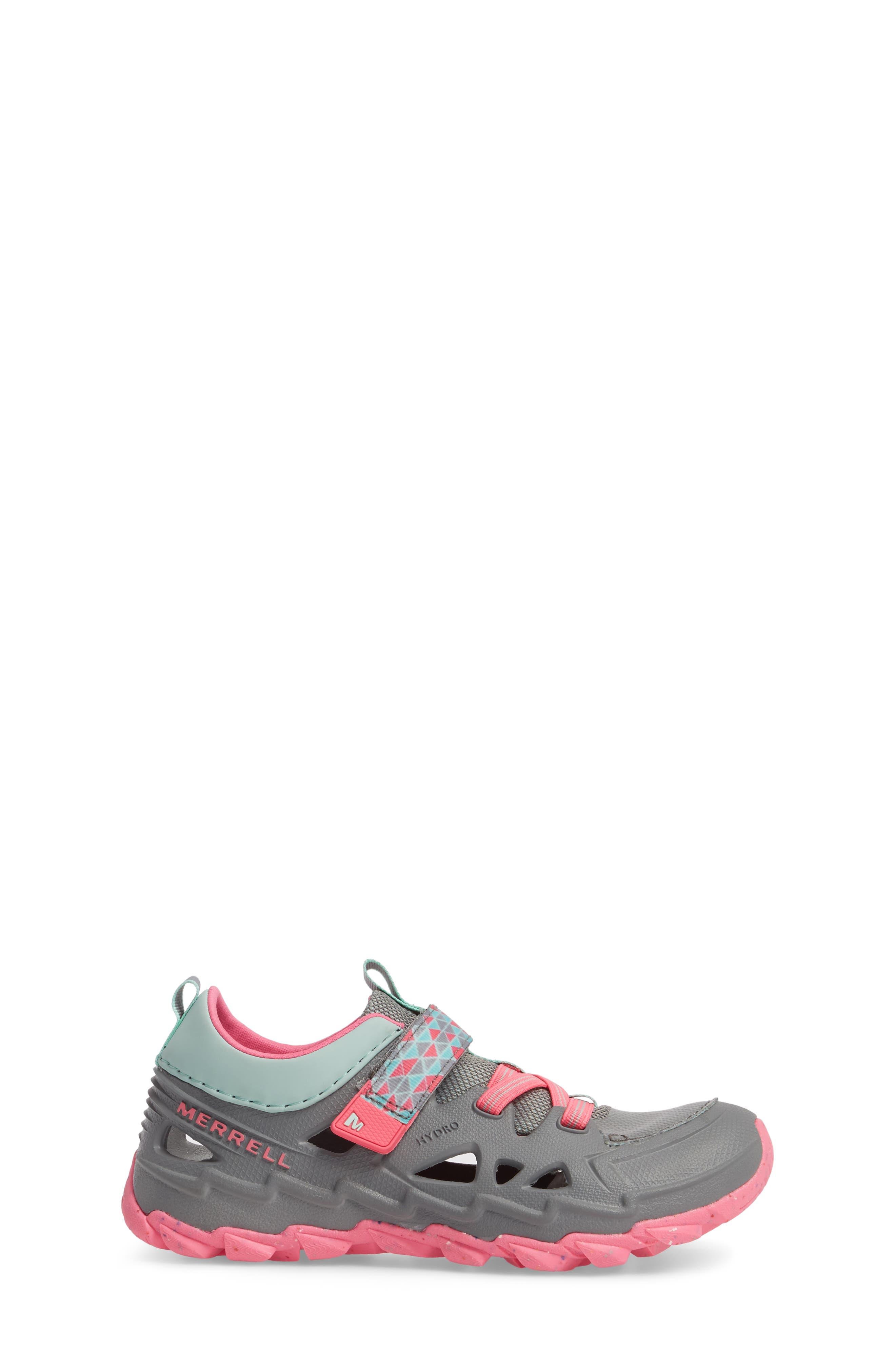Hydro 2.0 Water Friendly Sneaker,                             Alternate thumbnail 3, color,                             Grey/ Multi