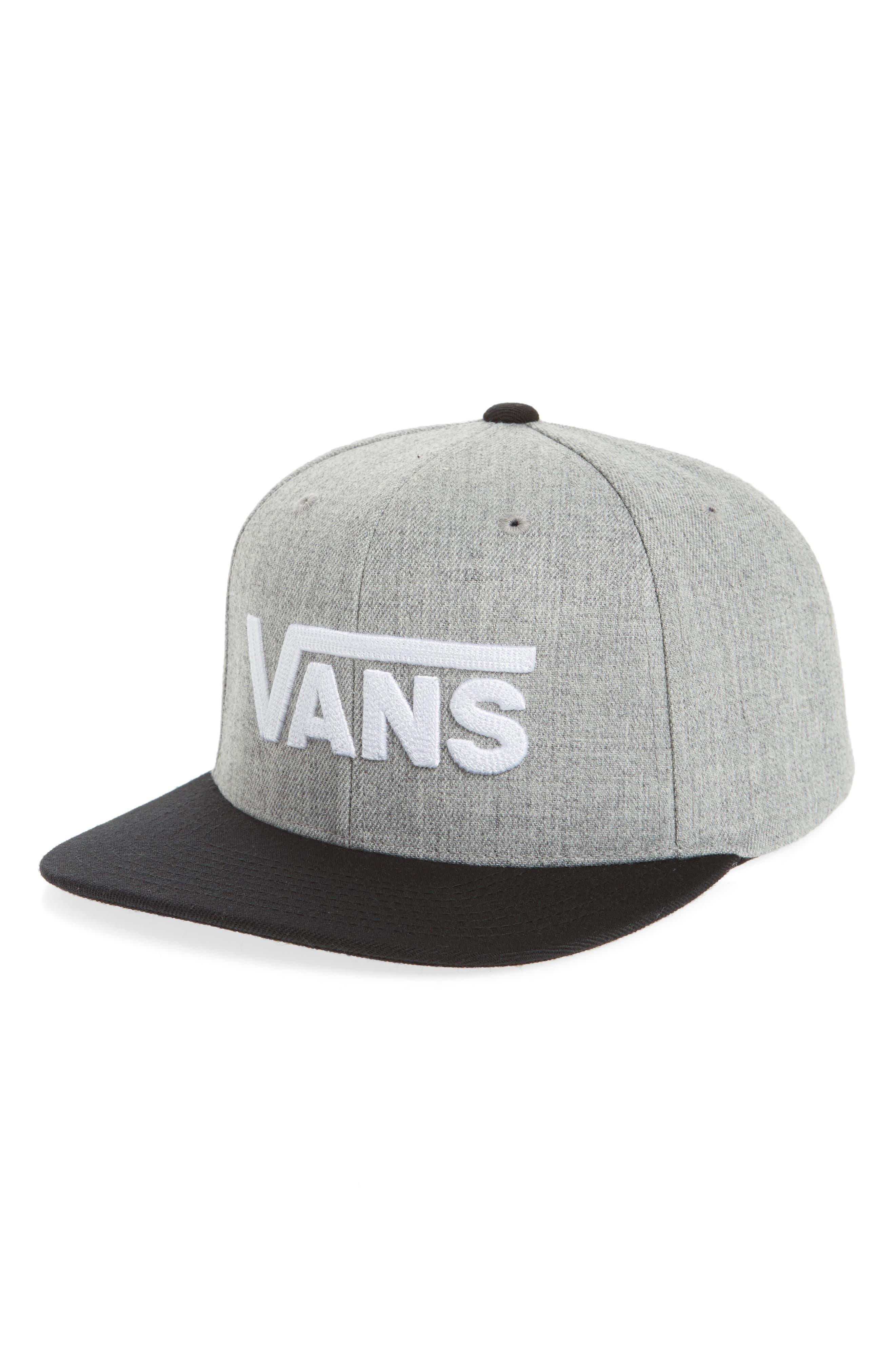 Vans DROP V II SNAPBACK CAP - GREY