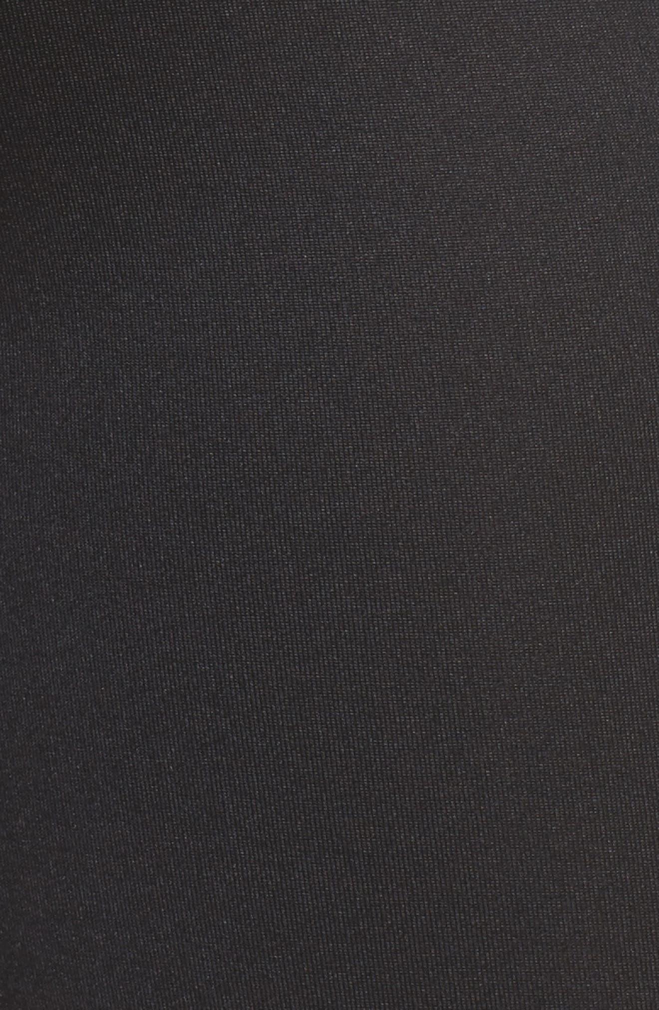 Essential Shorts,                             Alternate thumbnail 3, color,                             Black