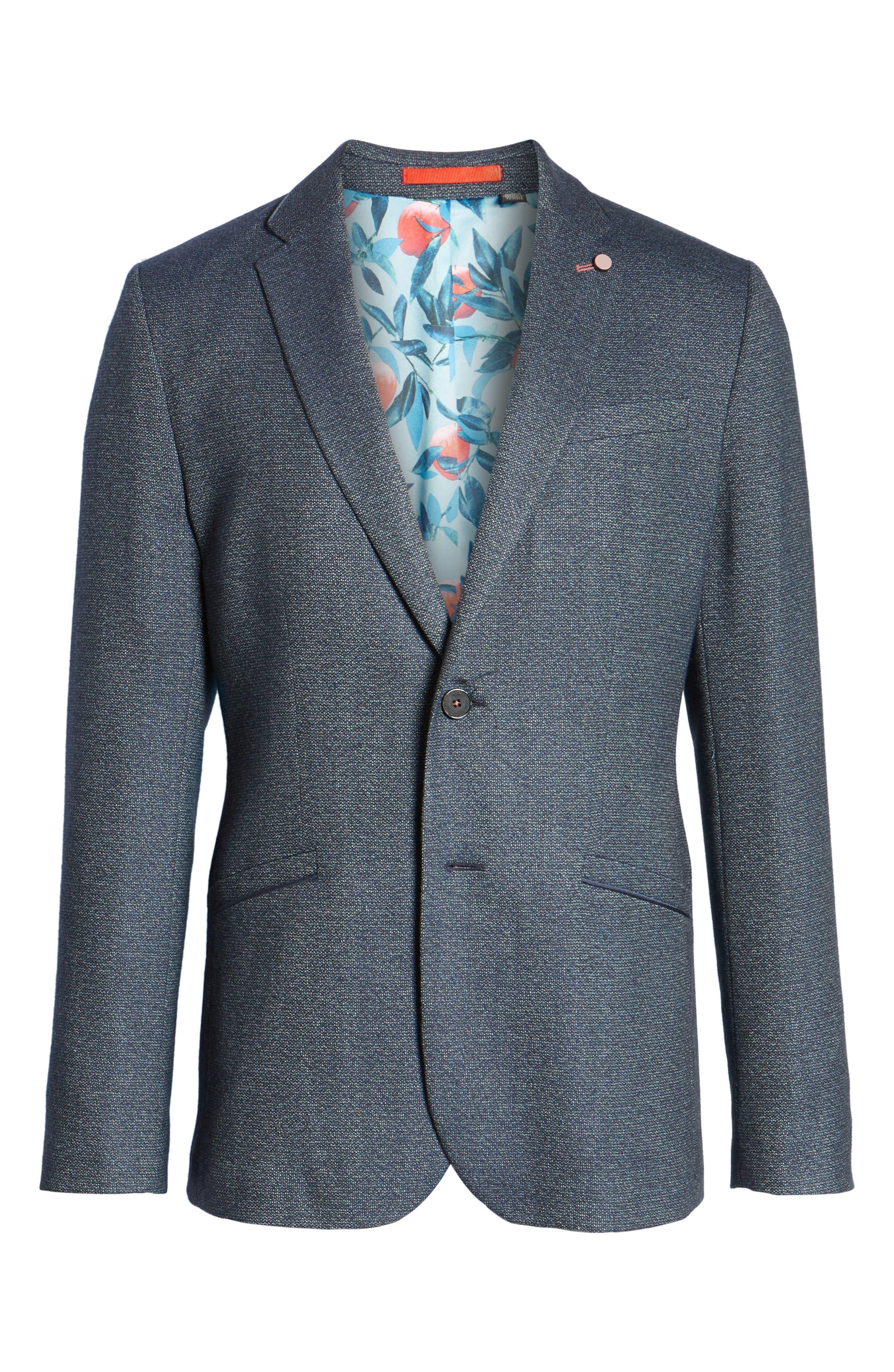Alternate Image 7  - Ted Baker London Burke Semi Plain Trim Fit Jacket