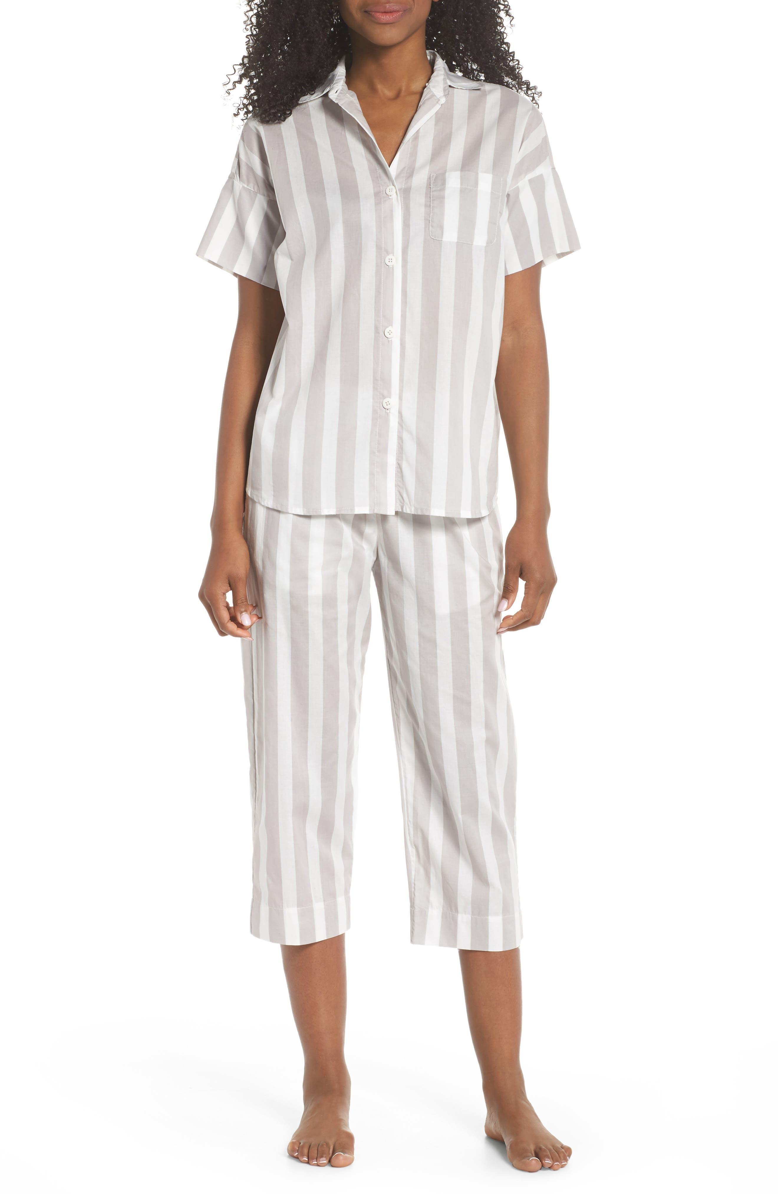 Alternate Image 5  - Maison du Soir Capri Pajama Pants