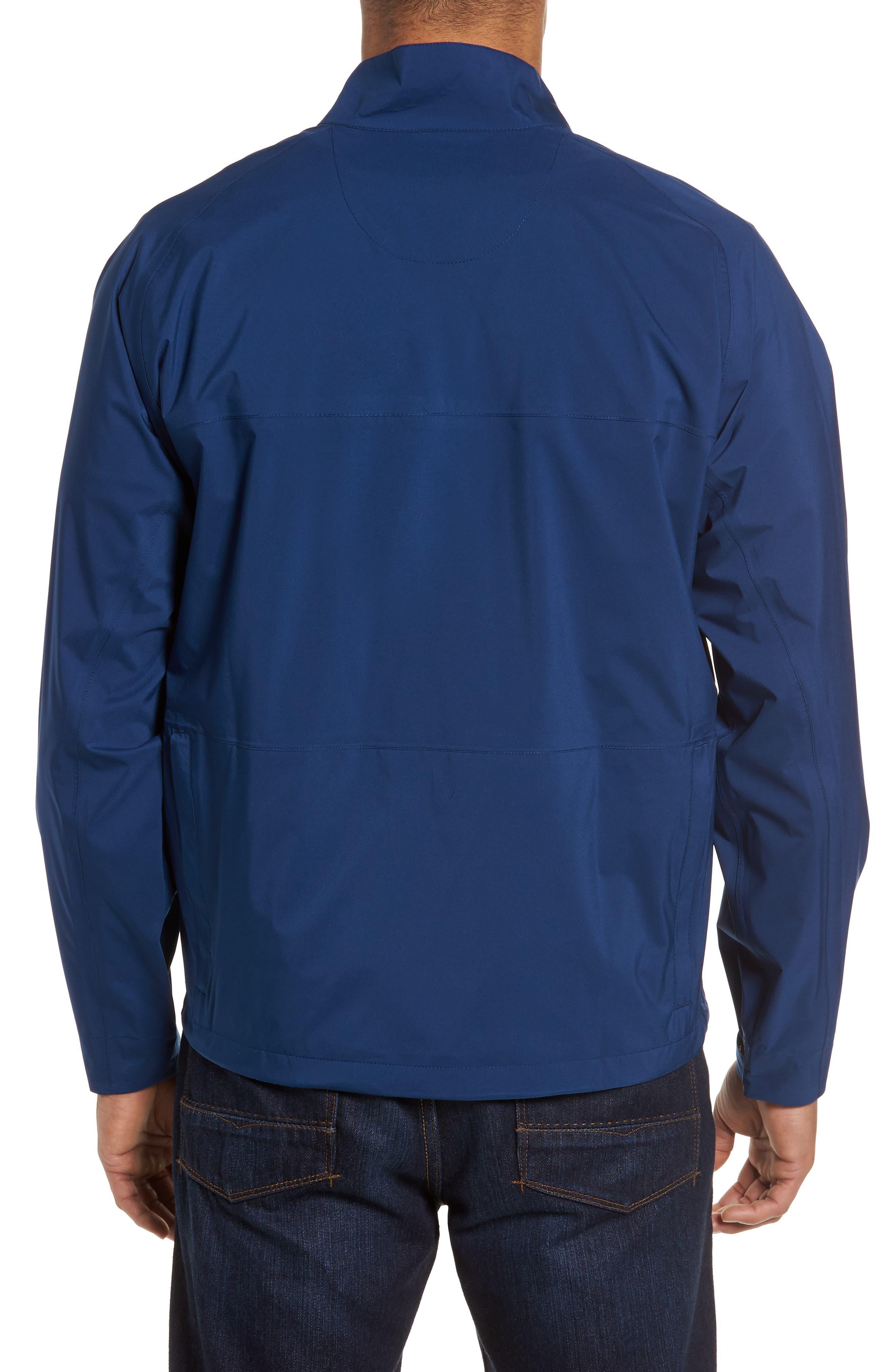 Regular Fit Half Zip Performance Pullover,                             Alternate thumbnail 2, color,                             Navy