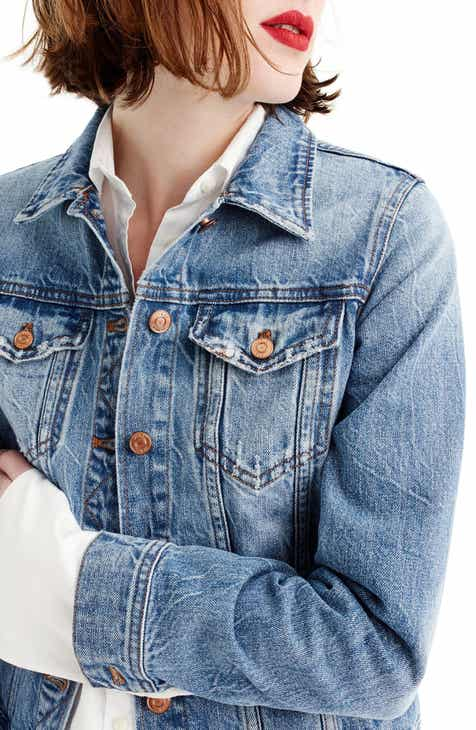 e3b896d209f J.Crew Classic Denim Jacket (Regular