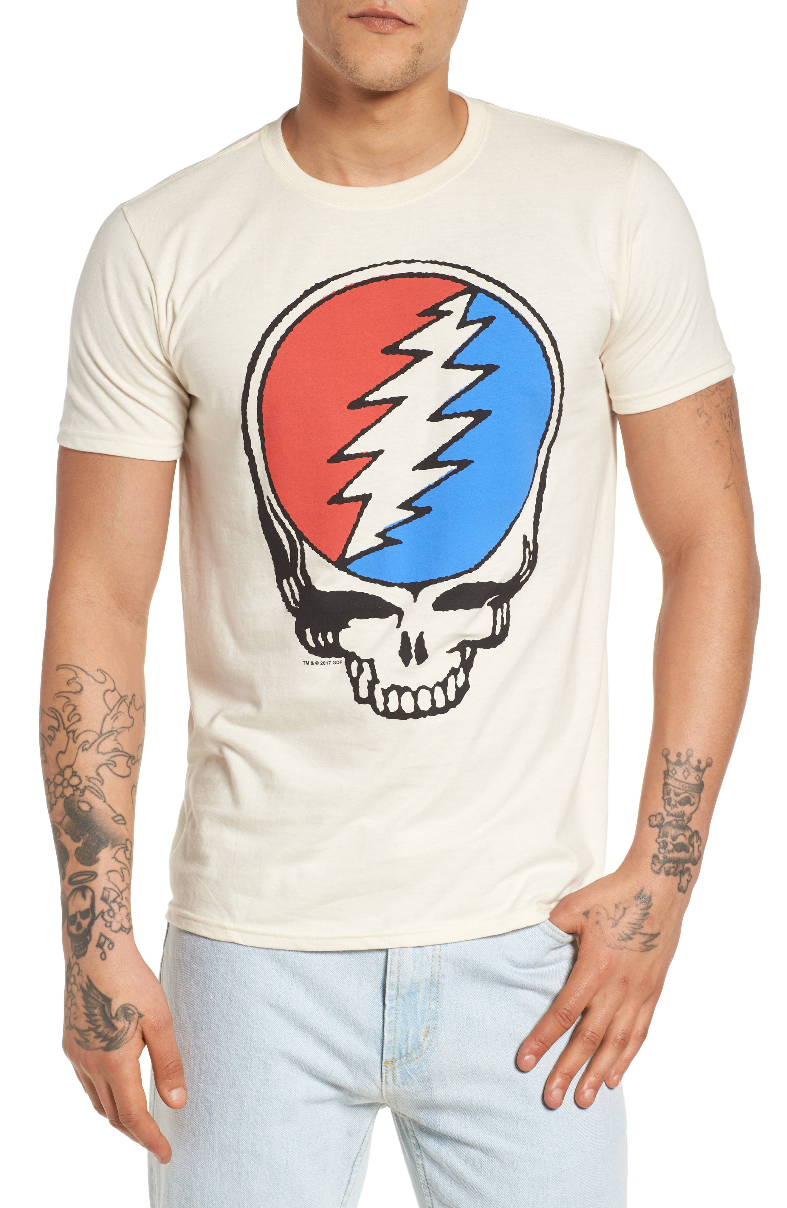 The Rail Grateful Skull T-Shirt