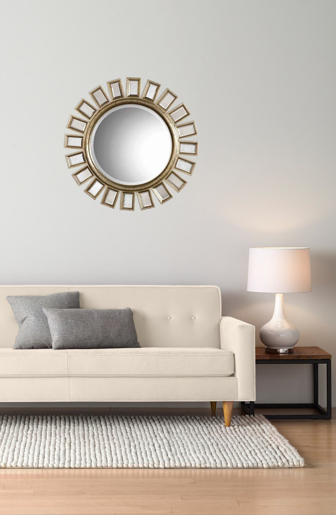 Alternate Image 2  - Uttermost 'Cyrus' Round Mirror