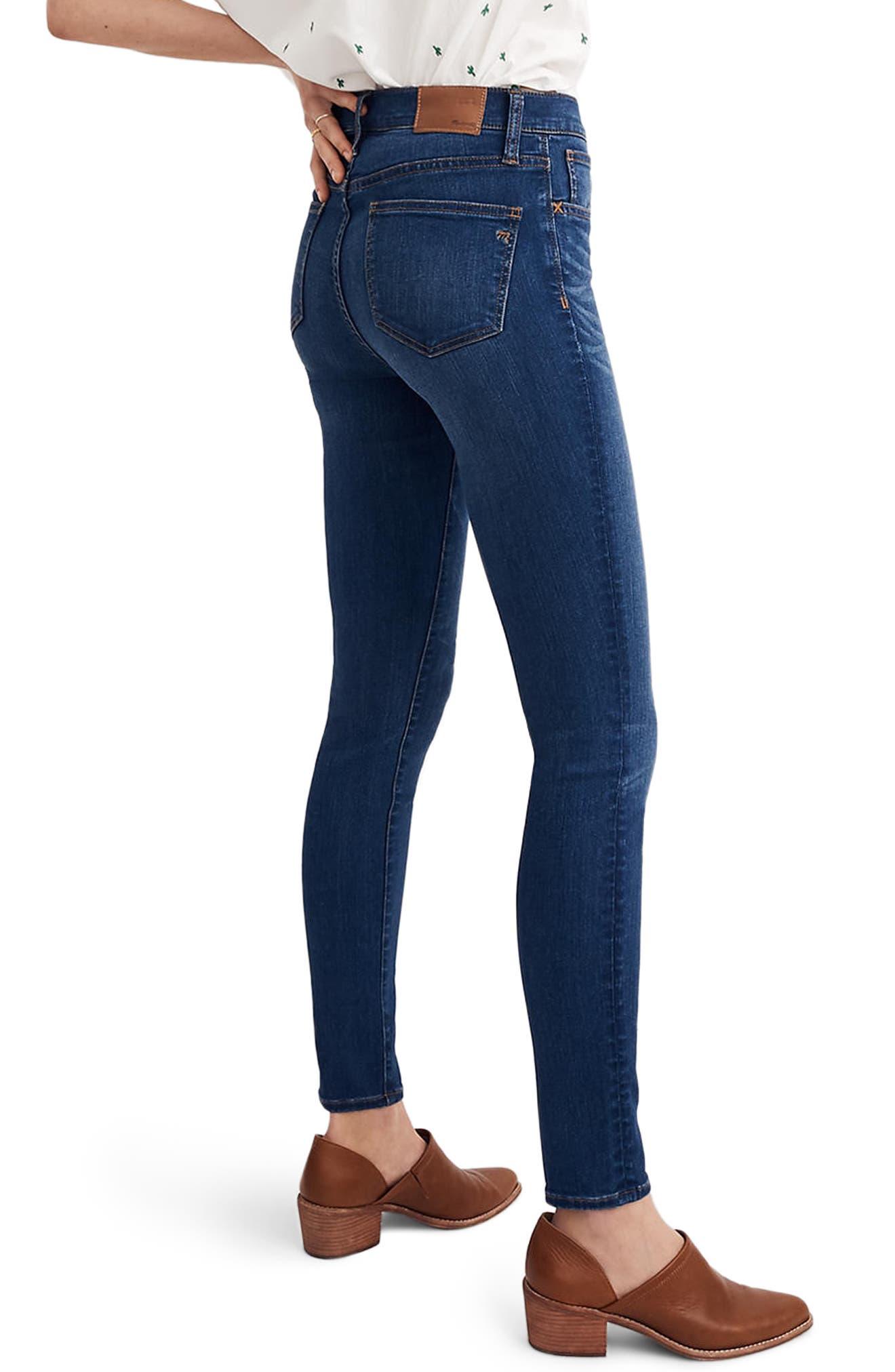 Roadtripper High Waist Skinny Jeans,                             Alternate thumbnail 2, color,                             Orson Wash
