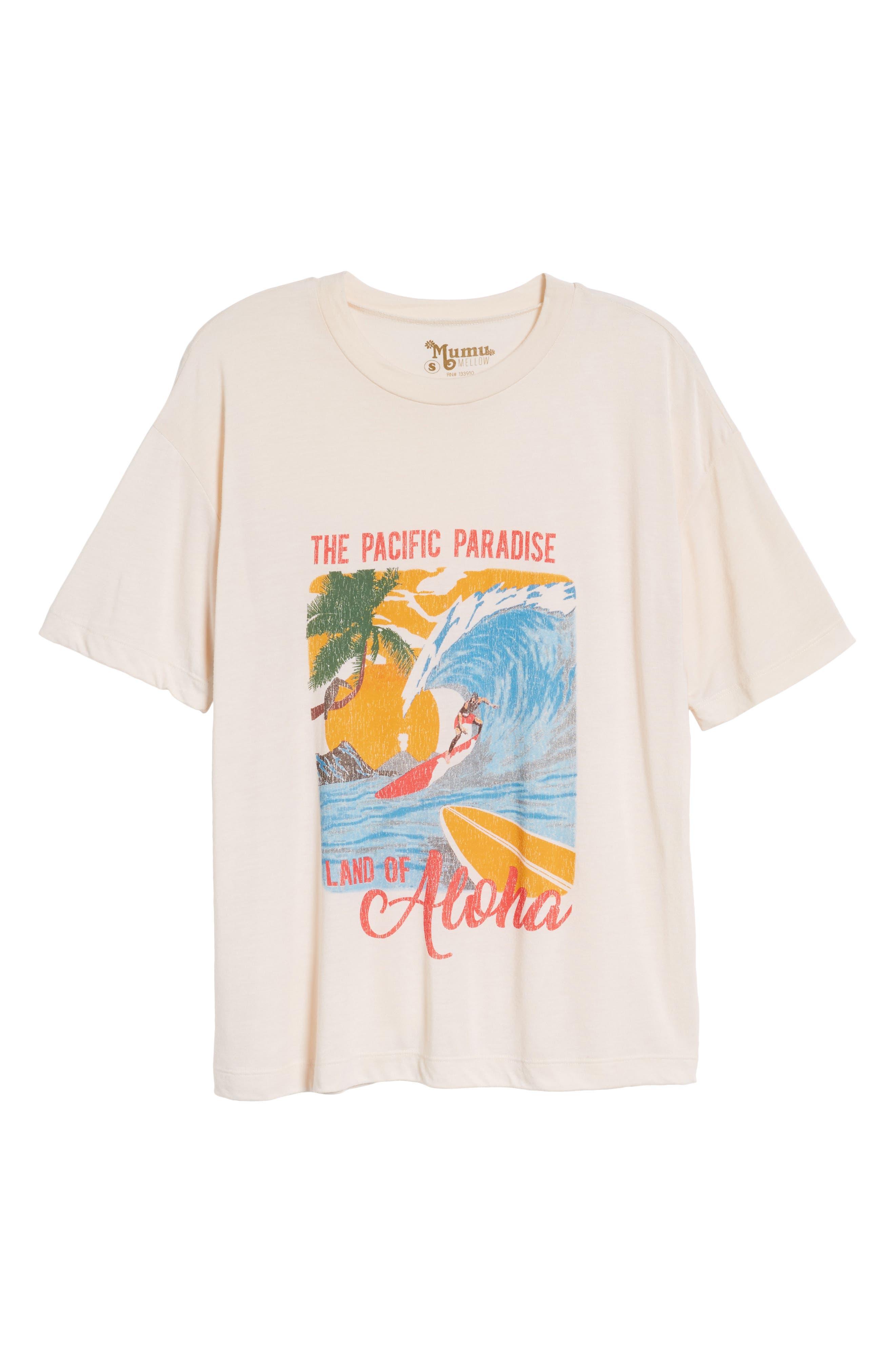Travis Tee,                             Alternate thumbnail 7, color,                             Aloha Postcard